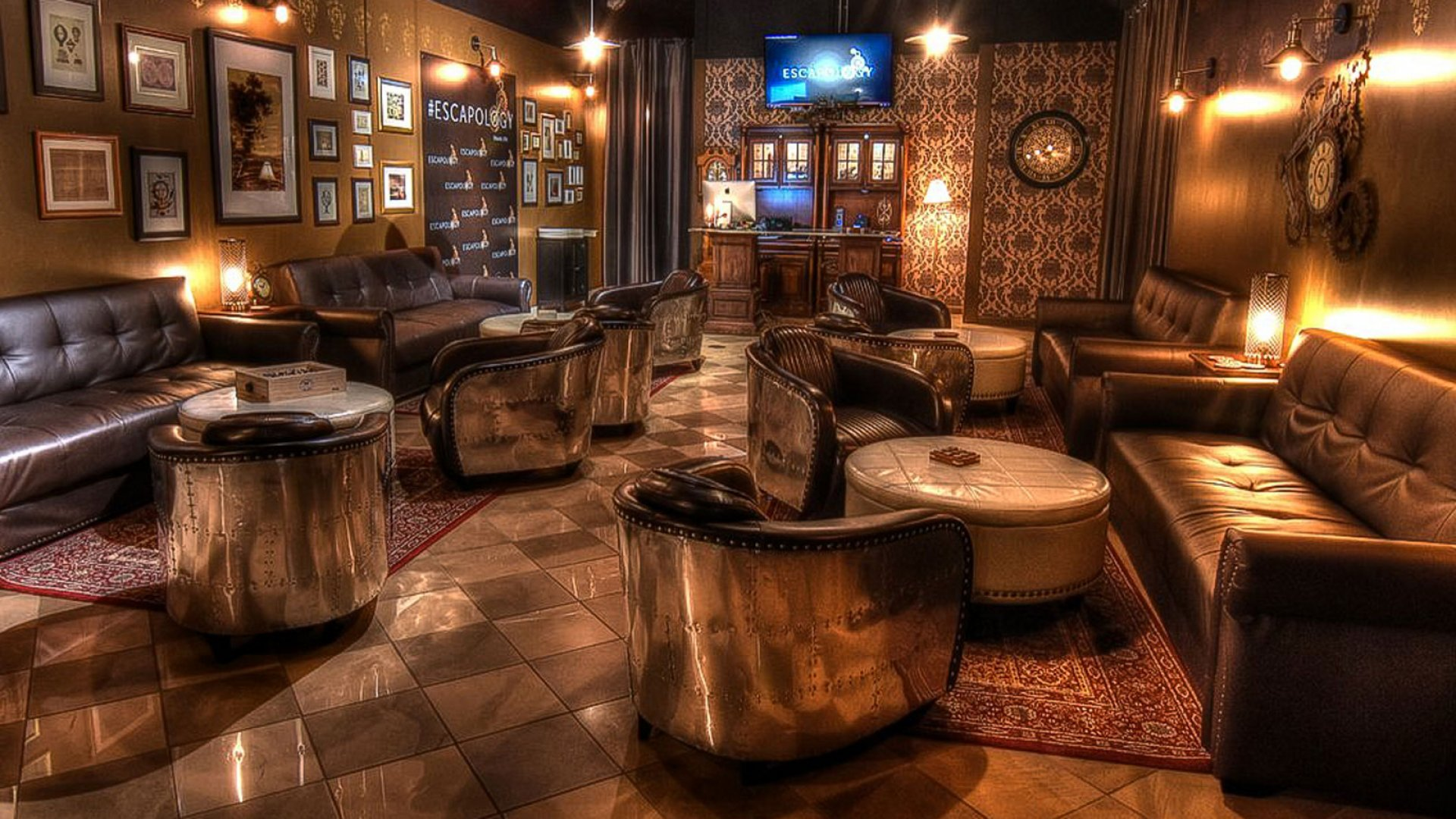 The Escapology lobby in Orlando.