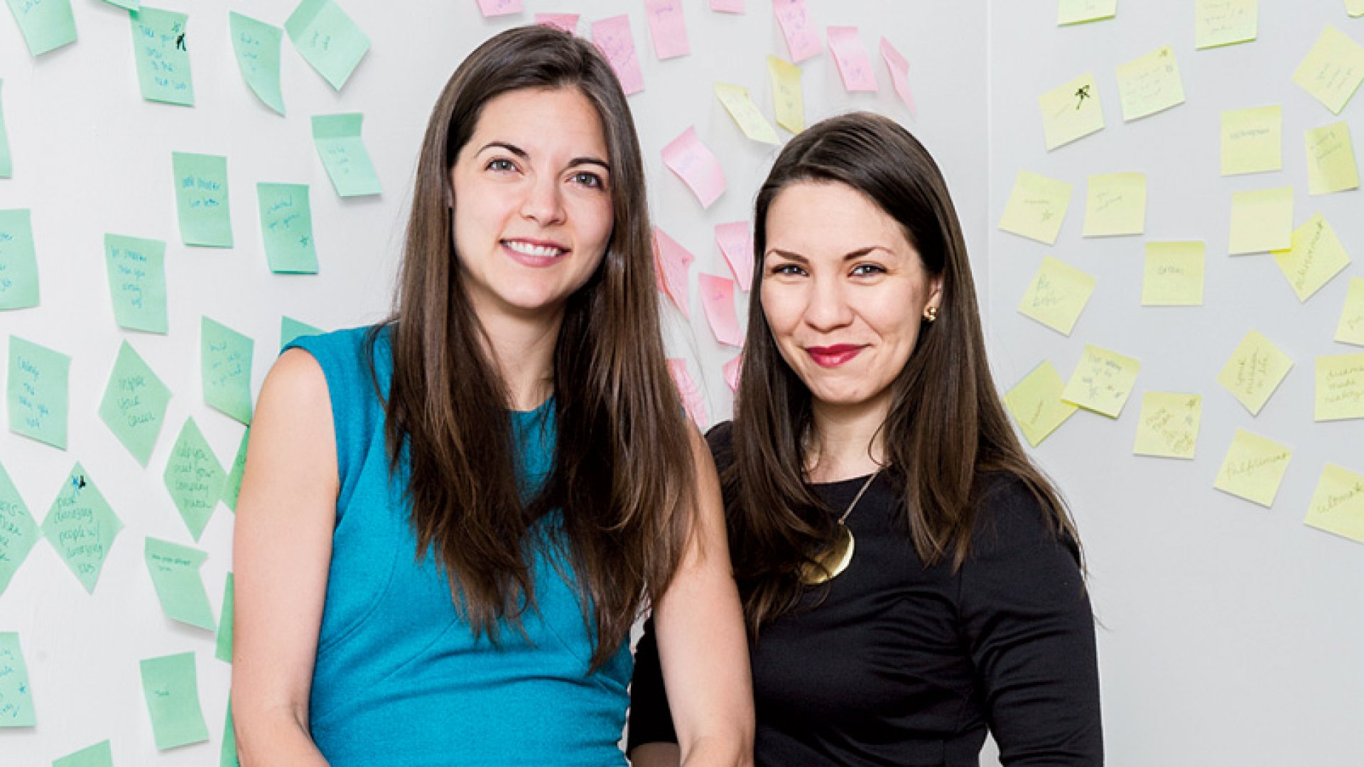 The Muse's co-founders (from left) Kathryn Minshew and Alex Cavoulacos, along with Melissa McCreery (not pictured), started the company to become a clearinghouse for career advice. They're getting there. 
