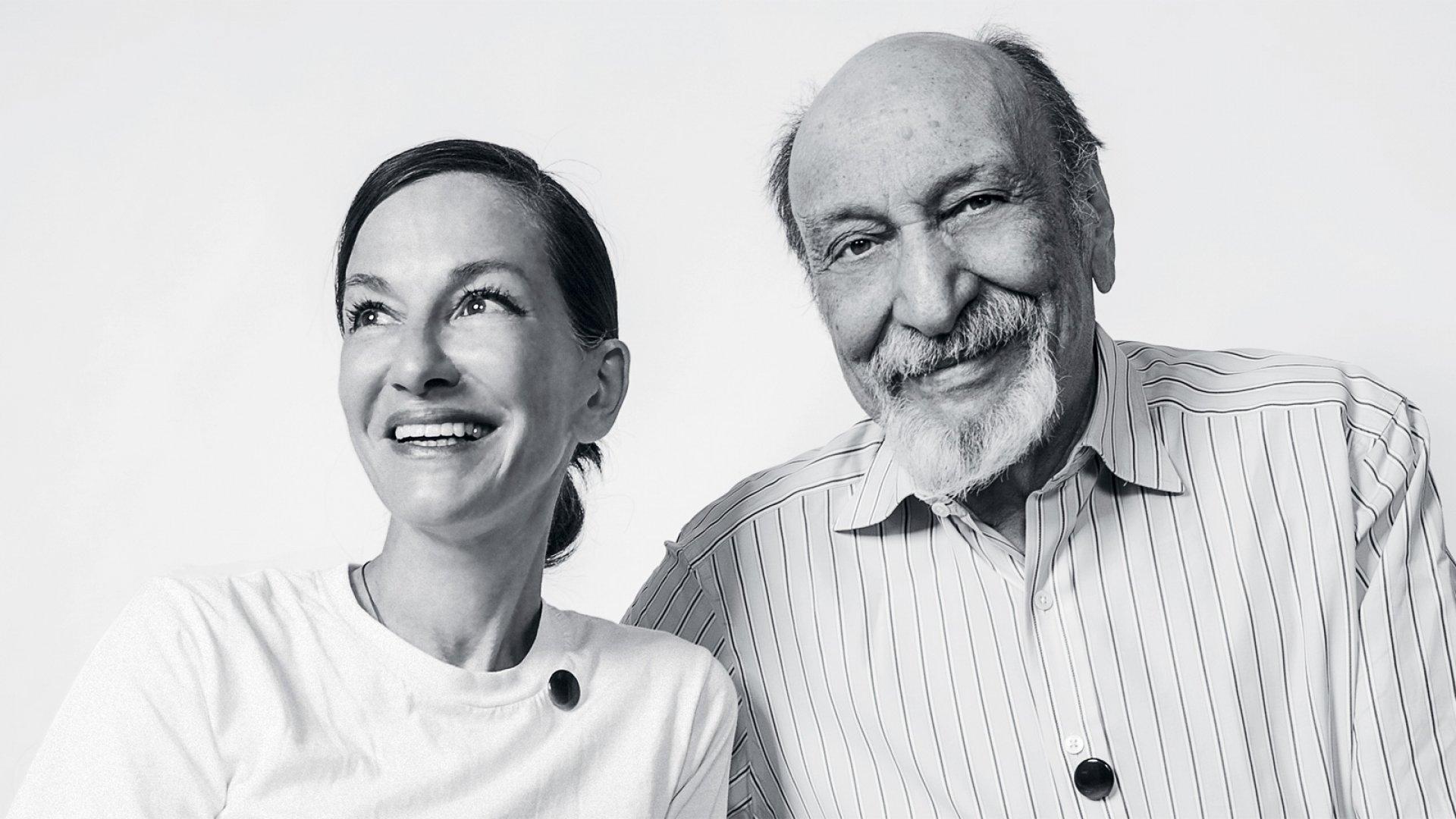 Cynthia Rowley and Milton Glaser