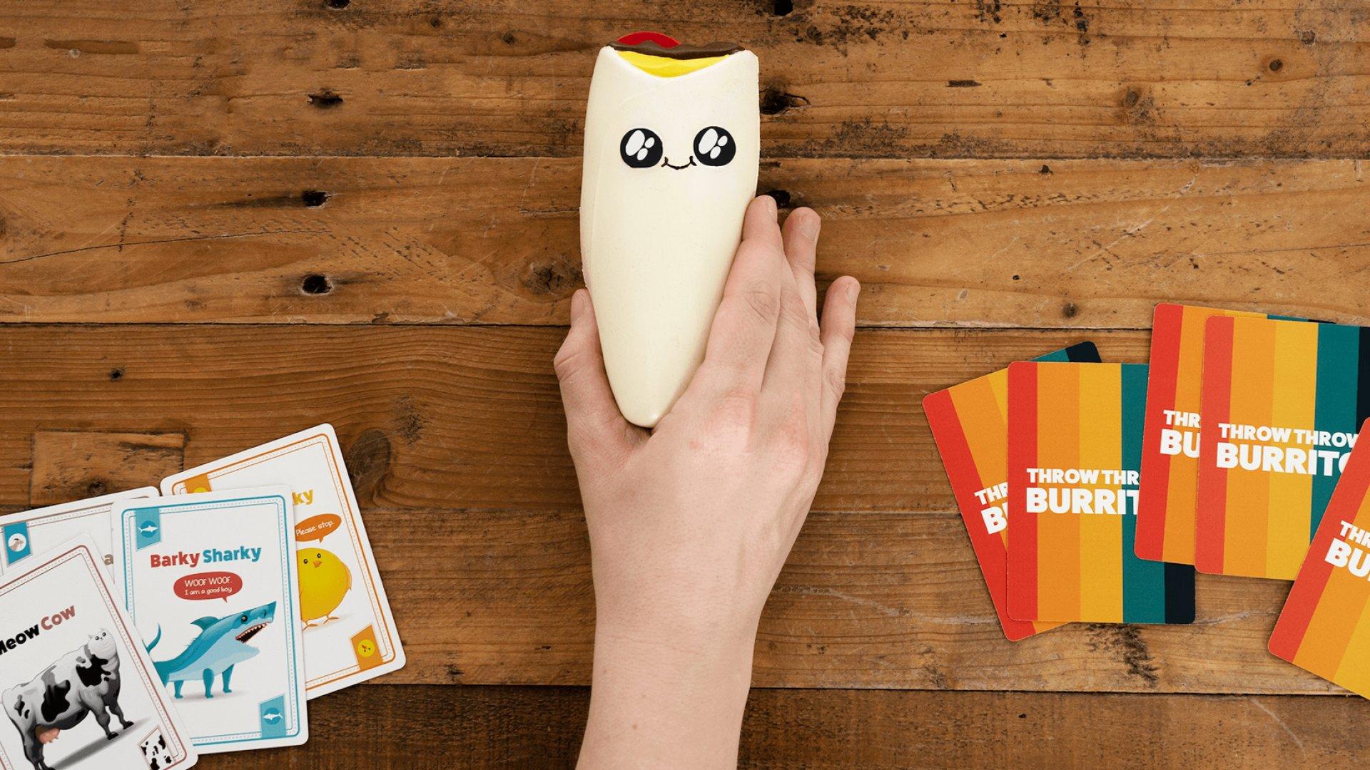 Throw Throw Burrito board game.