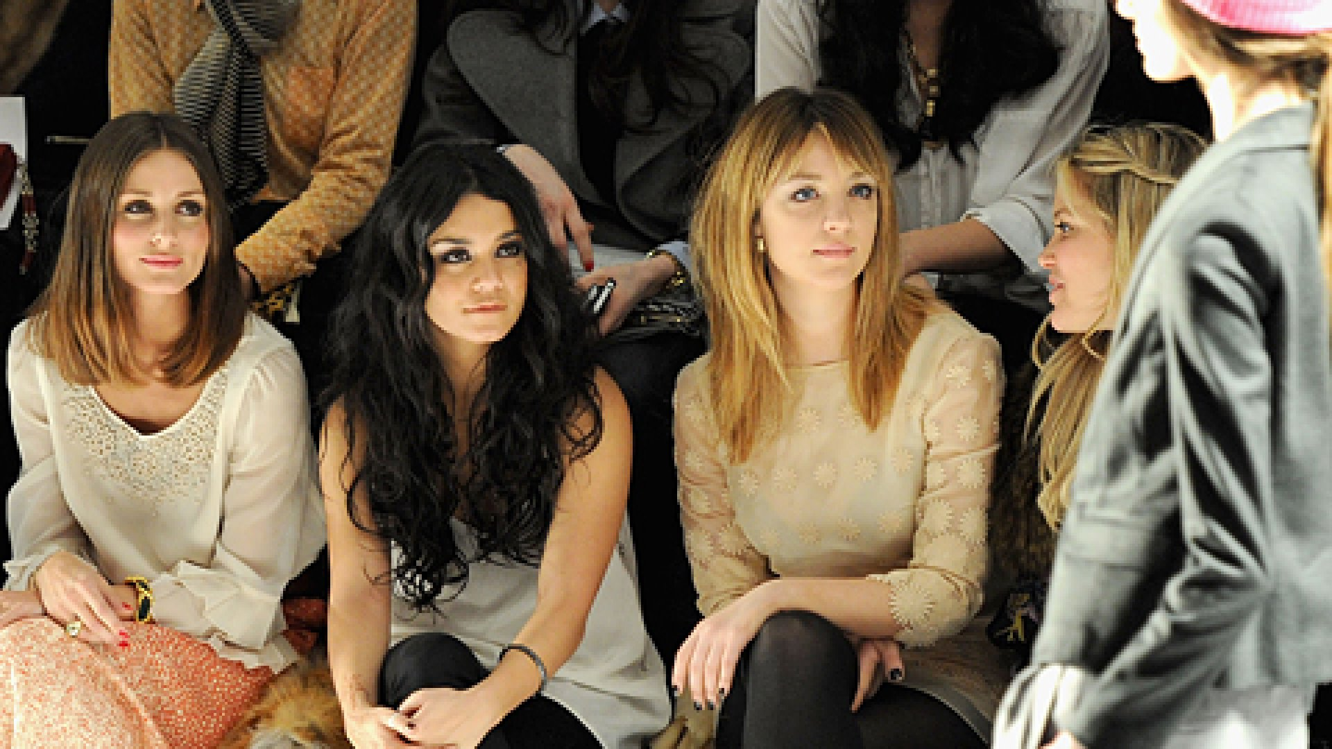 <strong>FRONT AND CENTER</strong>: Actresses Olivia Palermo, Vanessa Hudgens, and Abby Elliott attend the Tibi Fall 2011 Fashion Show at at Lincoln Center. In the front row at the Spring 2012 show was the CEO of a fashion-media start-up shaking the establishment: StyleCaster's Ari Goldberg.