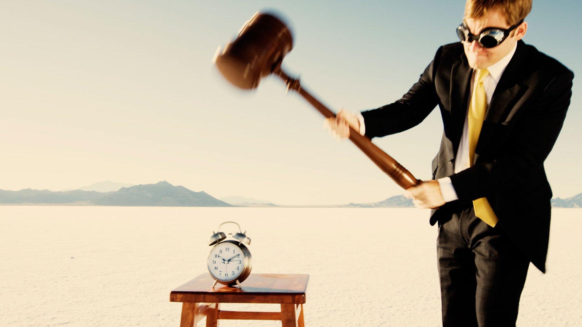 Killer Motivating Tactic: Break the Time Clock