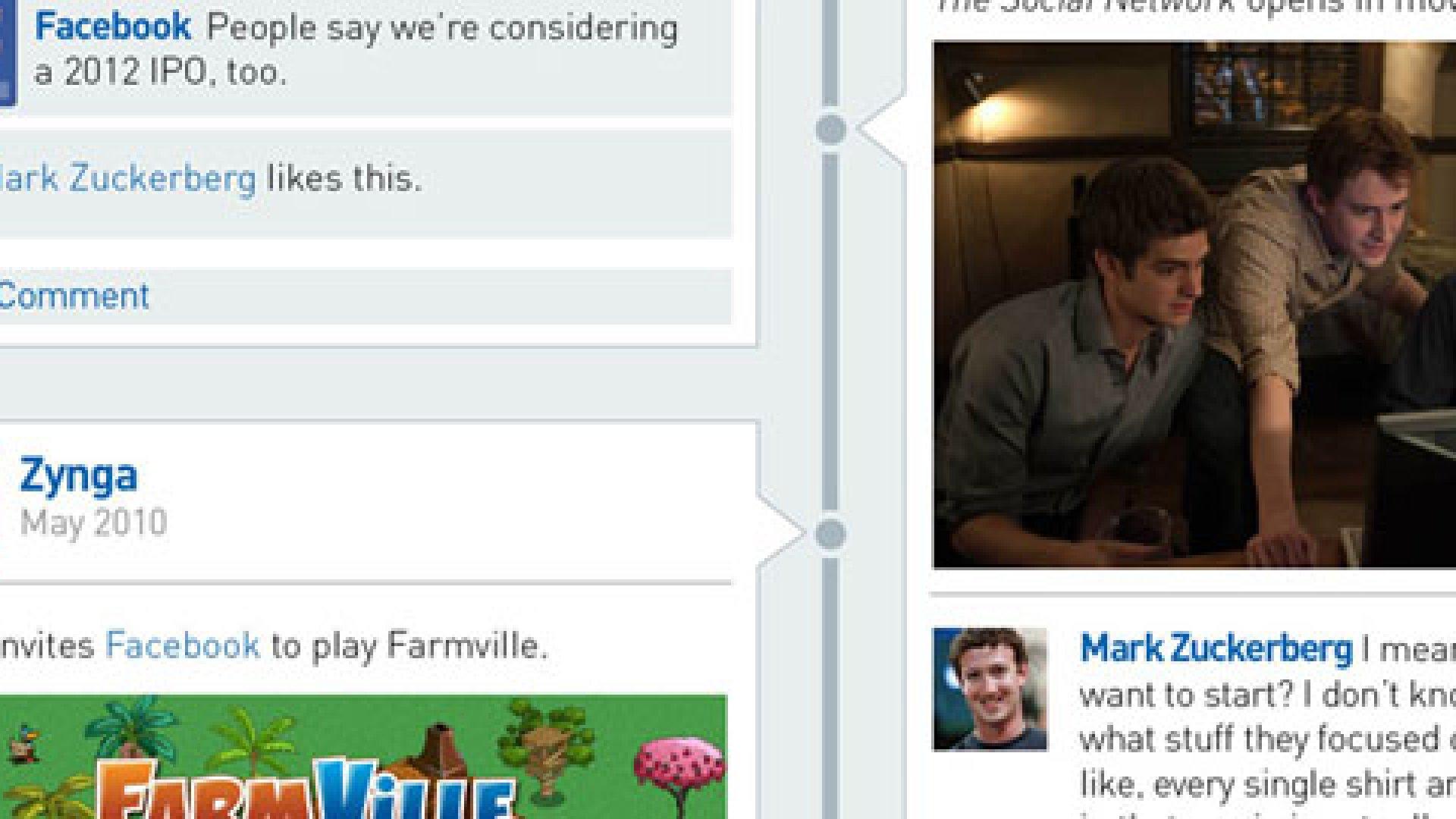 Facebook Timeline: How It Grew