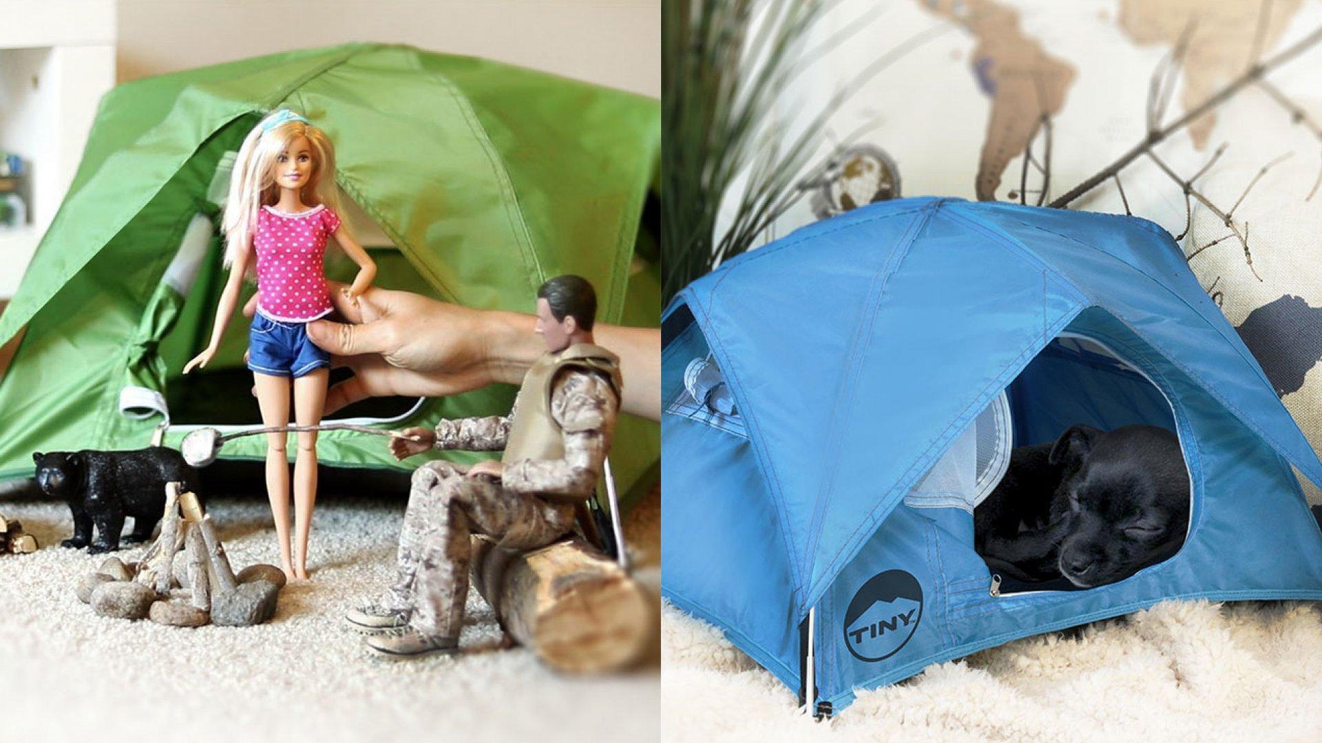Tiny Tents.