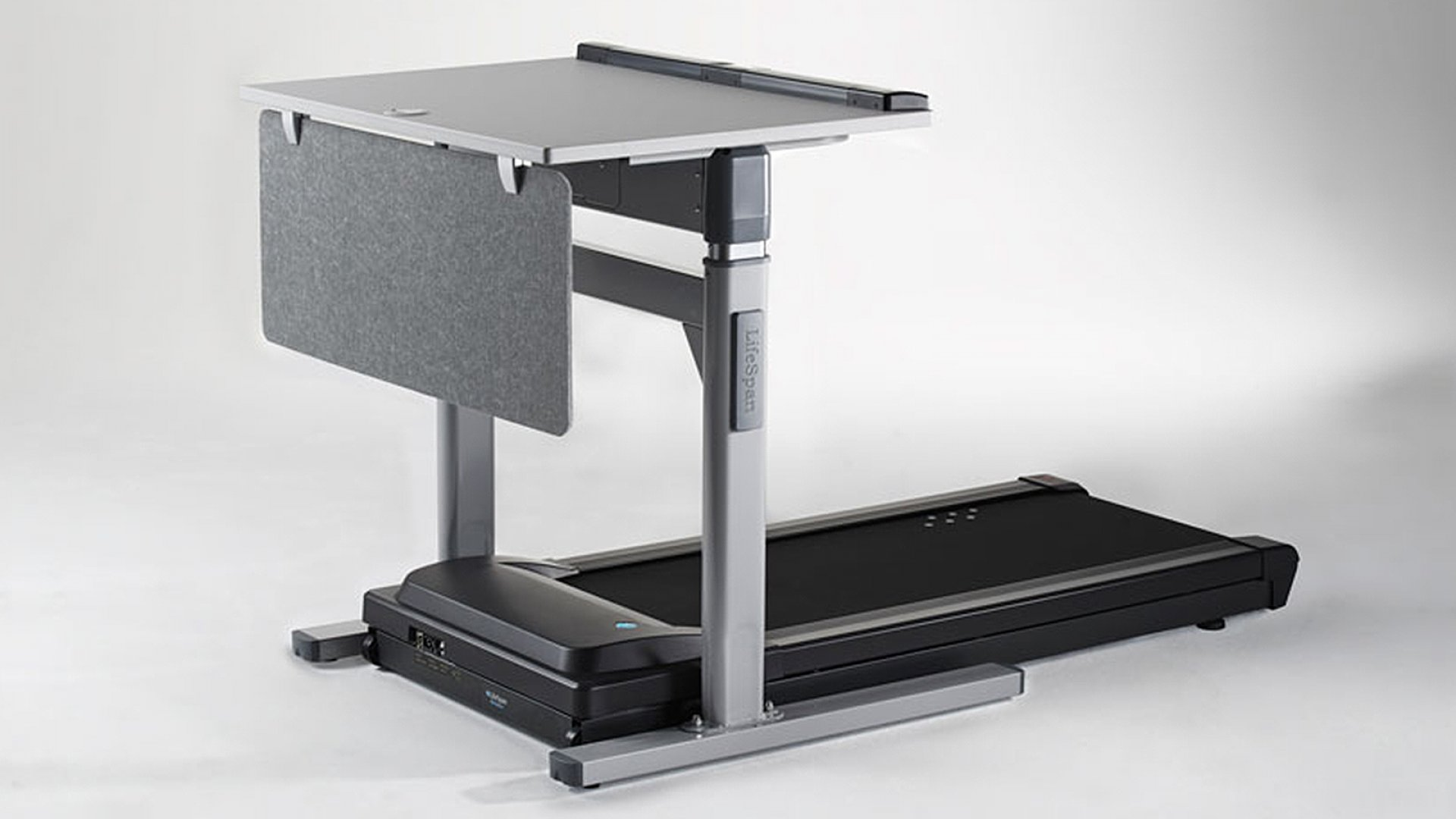 The LifeSpan TR1200-DT7 Treadmill Desk helps you get active all day.