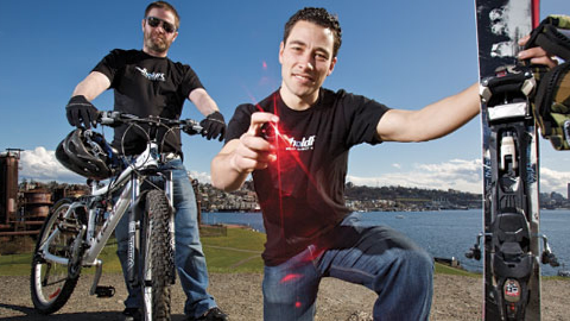 Jason Green (left) and Marc Barros (right) founded Twenty20 when they were students at the University of Washington.