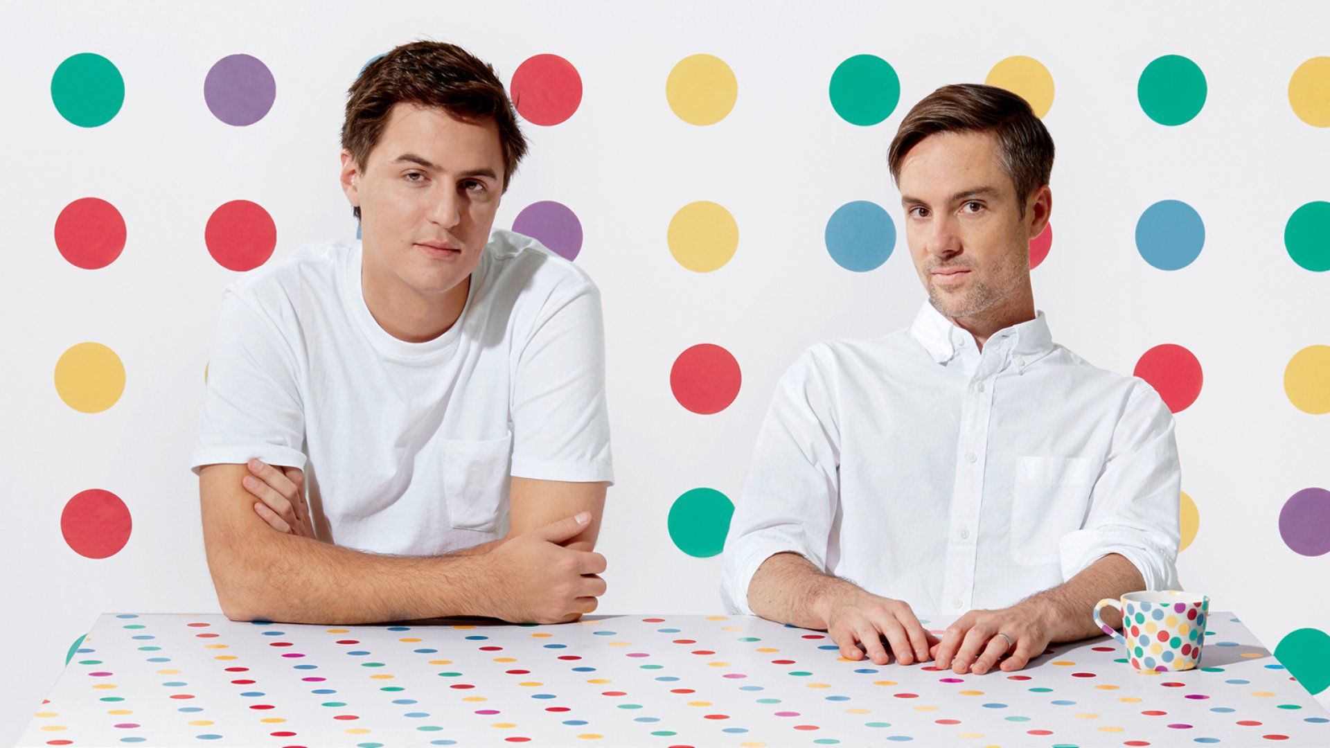 """Dots co-founders Patrick Moberg (left) and Paul Murphy. Moberg brings design and tech chops. Murphy has the business smarts--and what he calls a China """"obsession."""""""