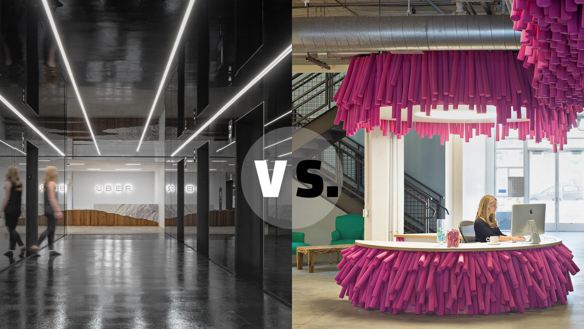 Which Office Is Cooler? Uber vs. Lyft