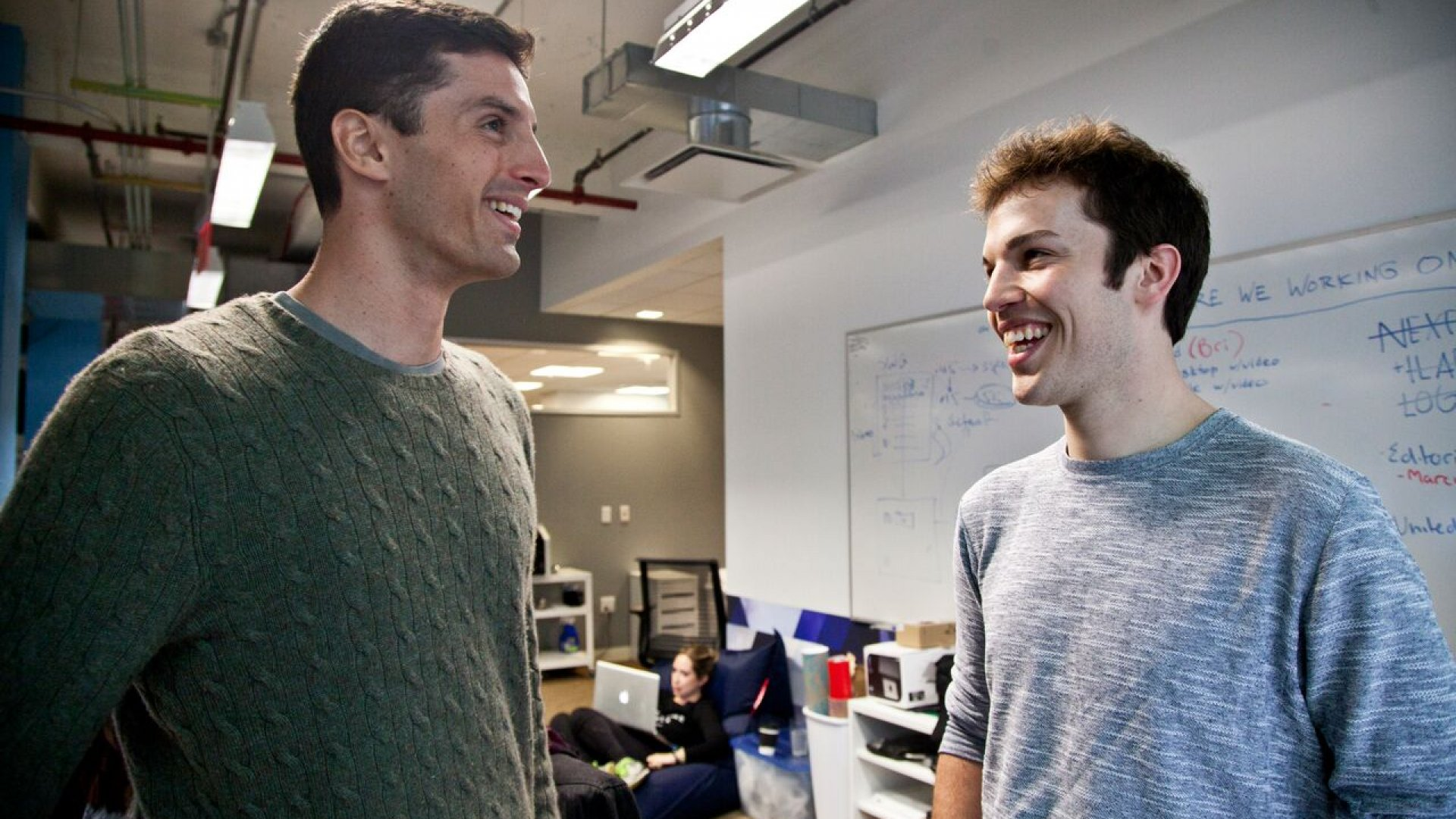 Mic founders Chris Altchek and Jake Horowitz have grown their media startup to reach 30 million monthly viewers.