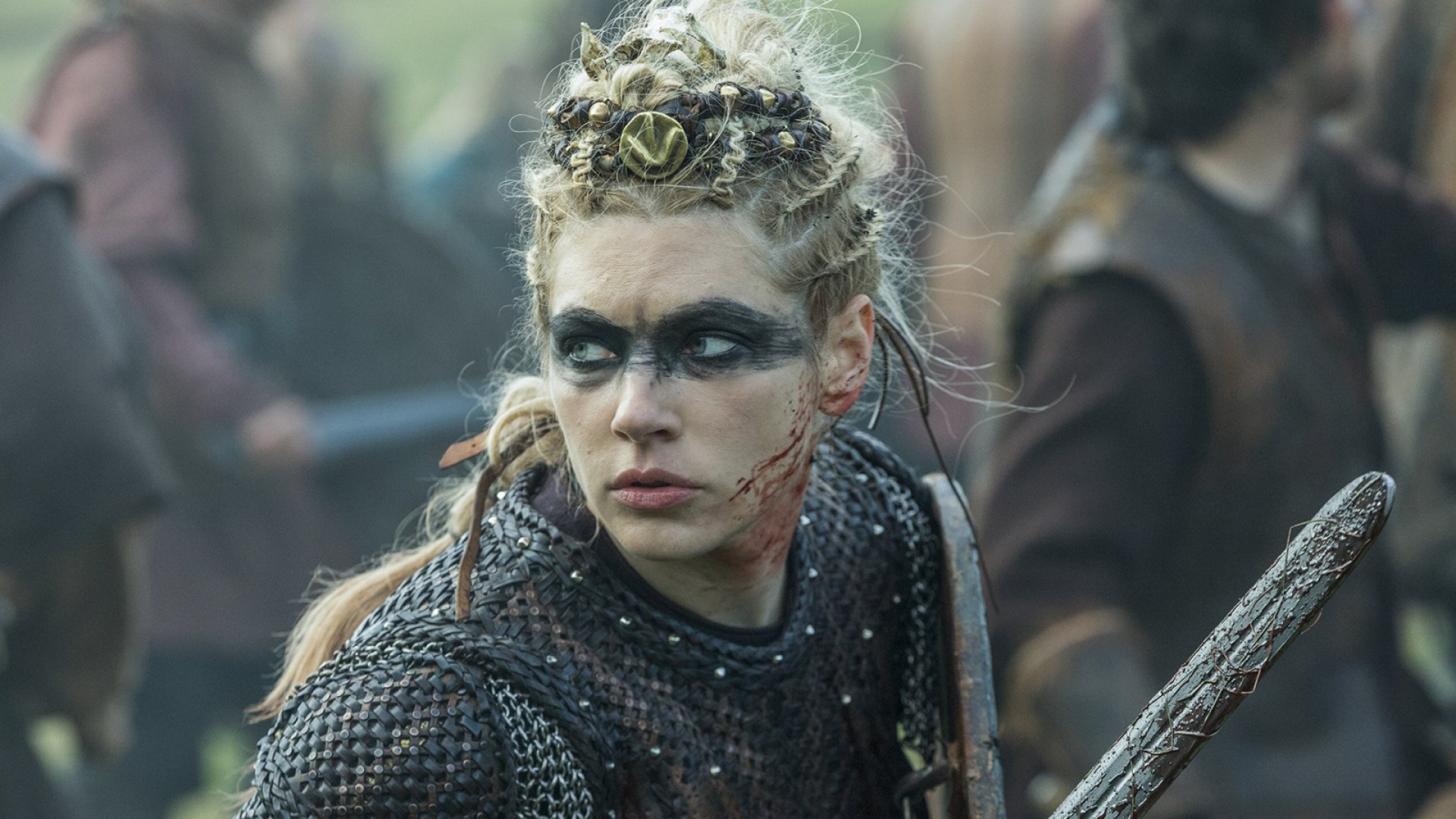 Lagertha (Katheryn Winnick) from HISTORY's 'Vikings.'
