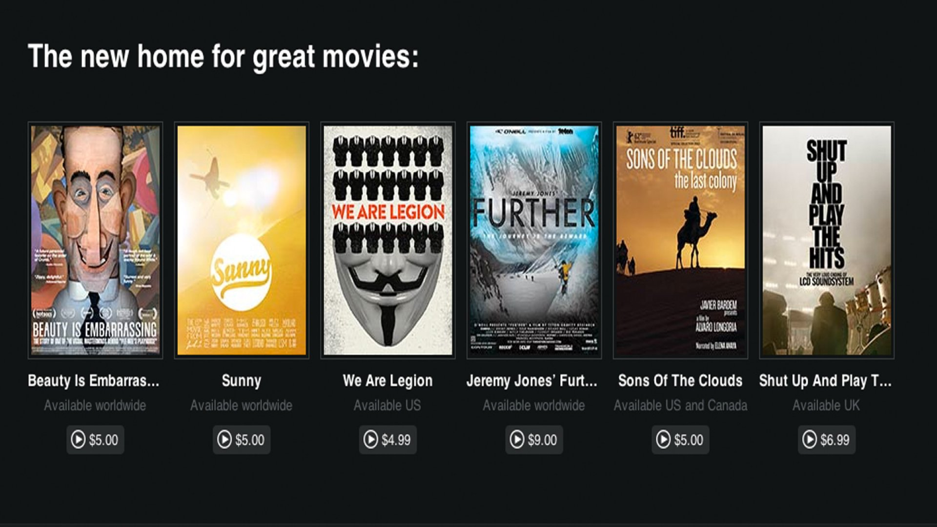 Vimeo Creators Can Now Set Paywall