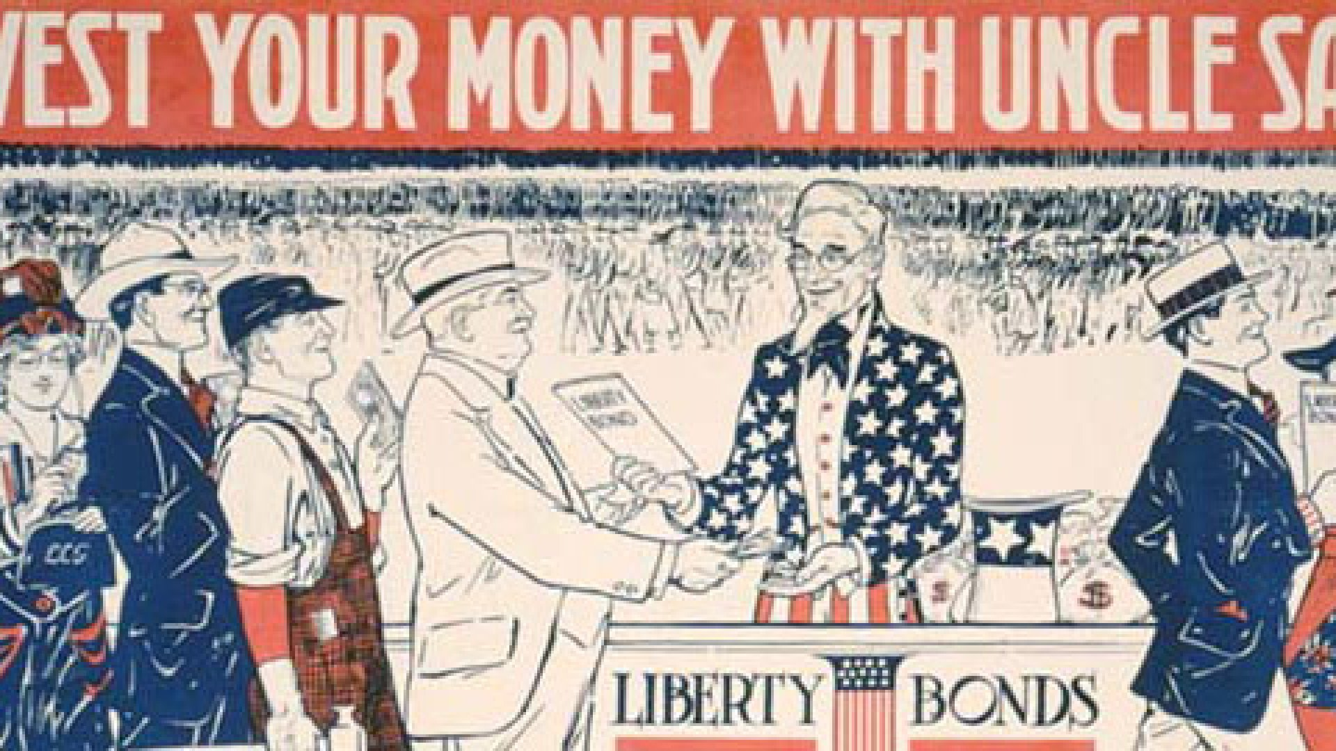 Much like we did with War Bonds during WWII, this is an opportunity for Americans to invest in our own future.