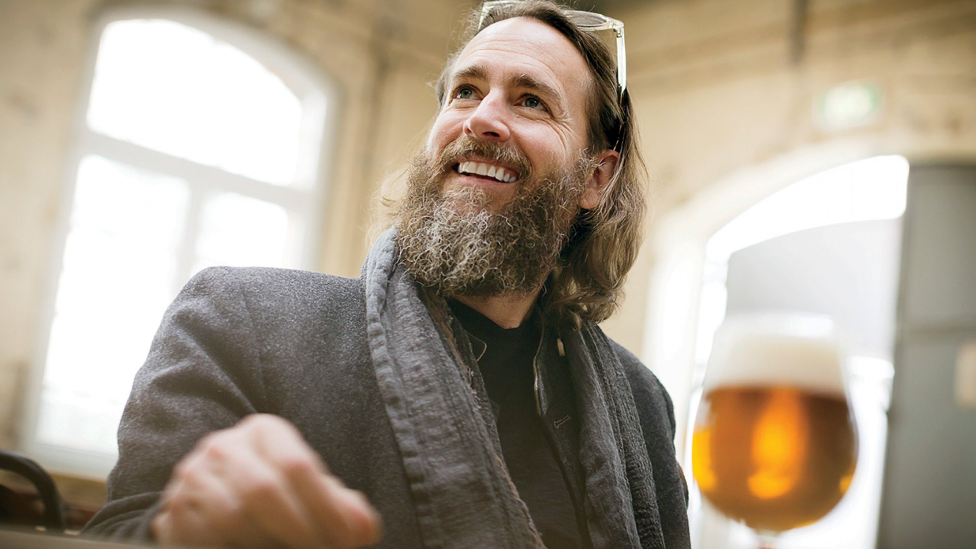 Greg Koch, who co-founded Stone Brewing in 1996 with Steve Wagner. The following year, the two started selling the revolutionary Arrogant Bastard Ale, which helped change the world of beer forever.