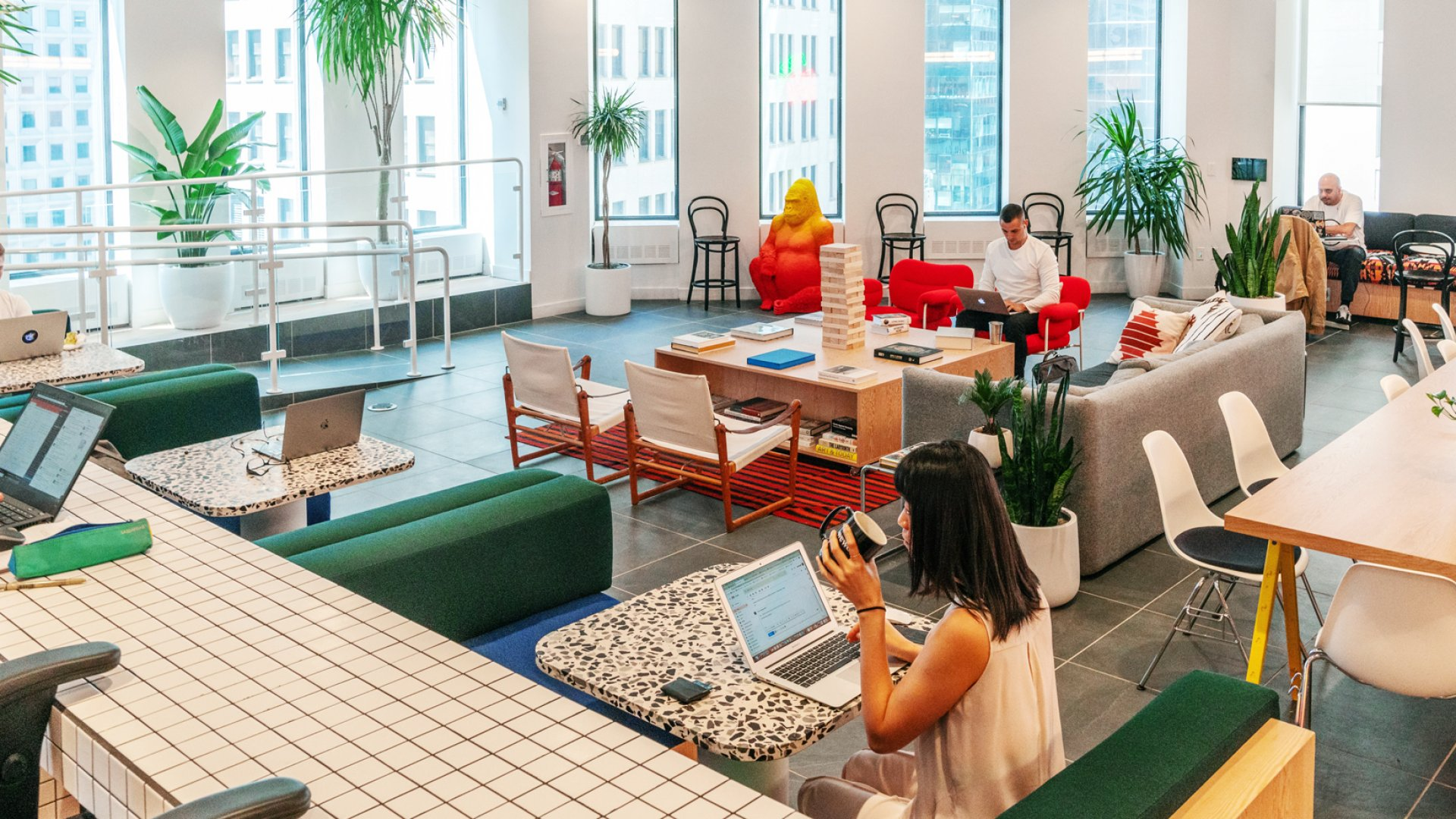 WeWork offices in New York City