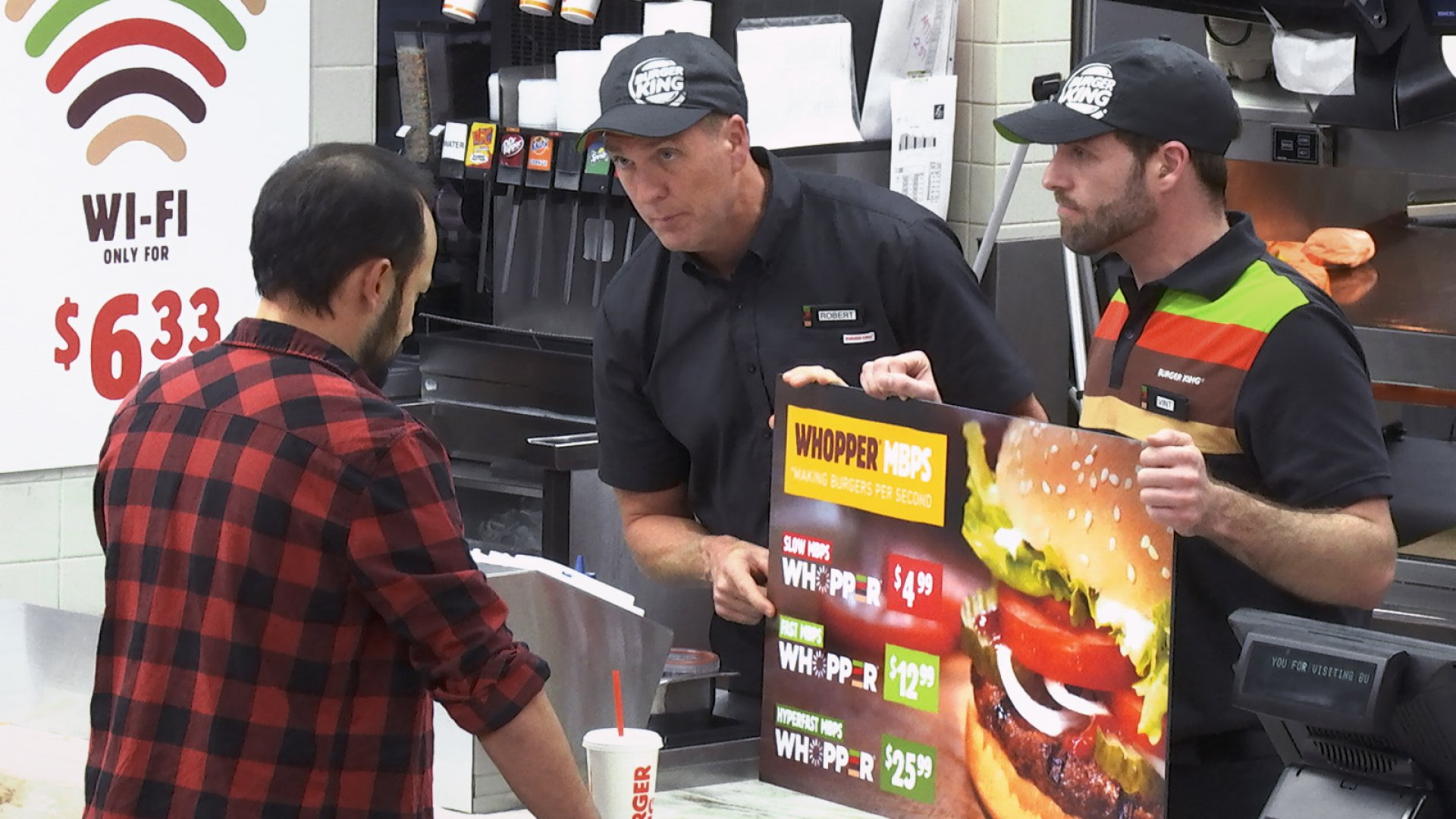 "The BURGER KING® Brand Takes on Net Neutrality Via ""WHOPPER® Neutrality"" Social Experiment."