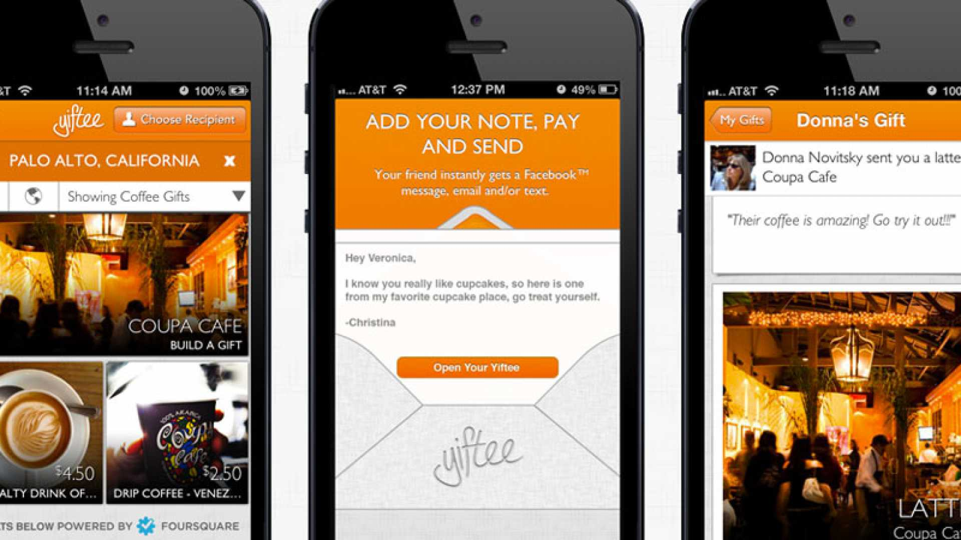 Yiftee: A Gifting App That Boosts Local Businesses