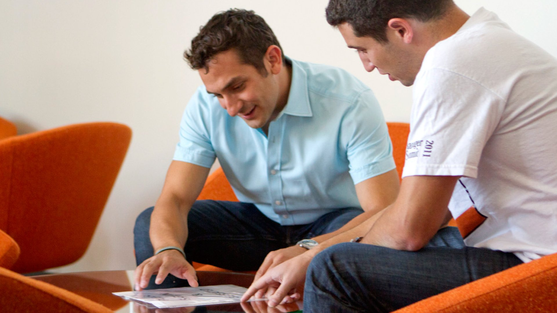 Yodle's founder Ben Rubenstein. (right)