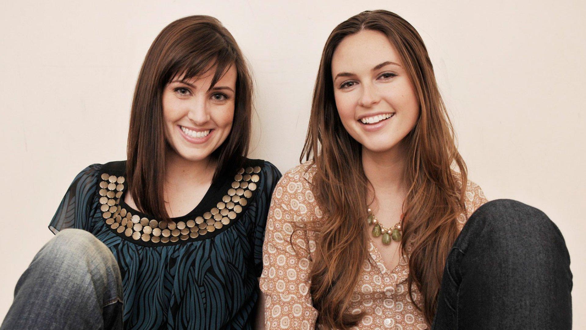 'ZinePak founders Kim Kaupe (left) and Brittany Hodak.