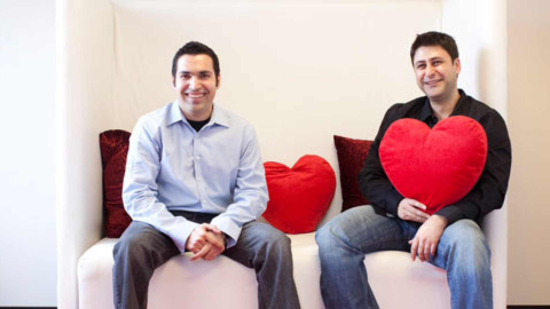 Alex Mehr and Shayan Zadeh, founders of Zoosk, were born in Iran but moved to the United States to start their company.