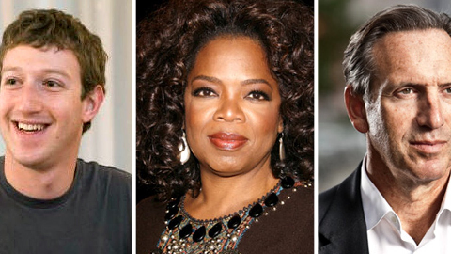 Round Two Results:  Phil Knight Walks (Must Be the Shoes), While Oprah Romps (Must Be the Fame).