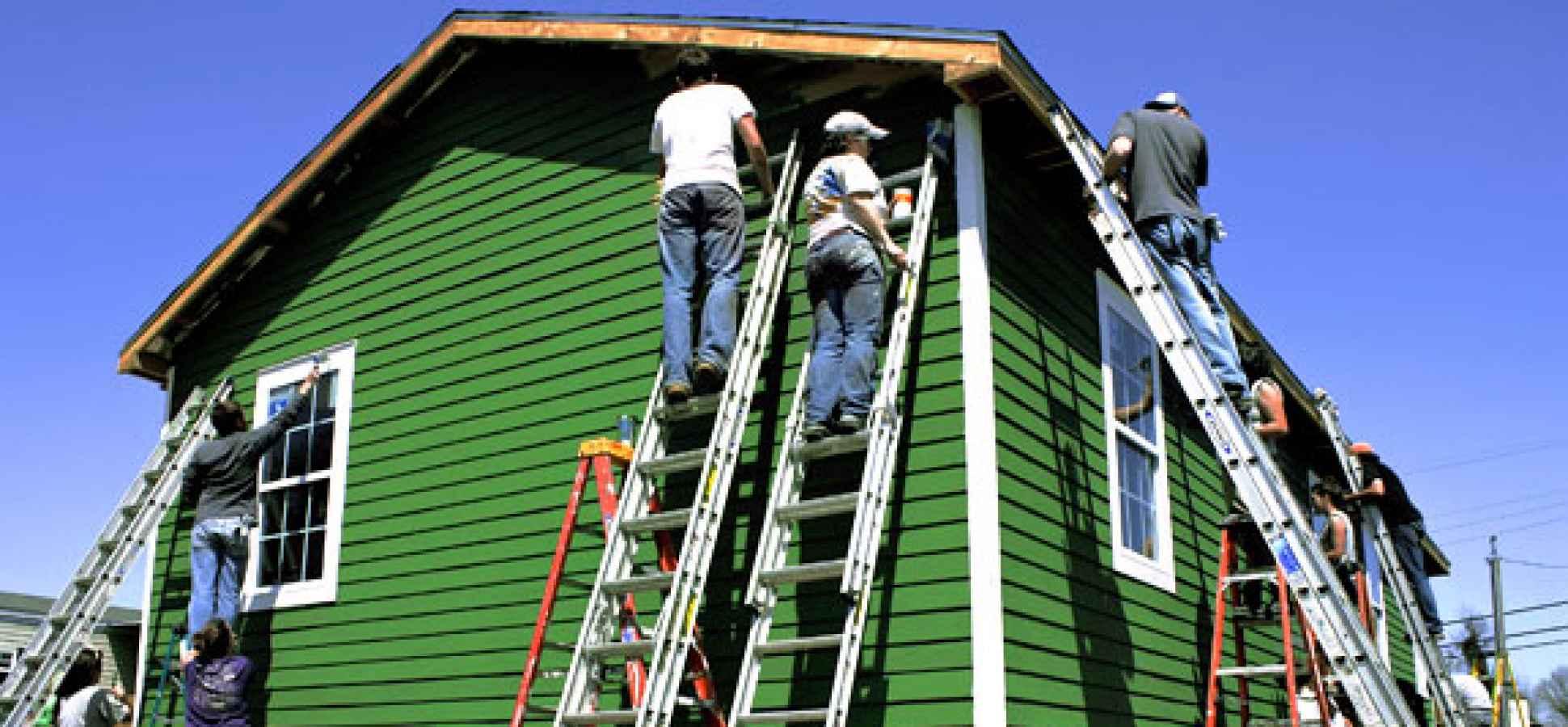 painting house : ukrobstep
