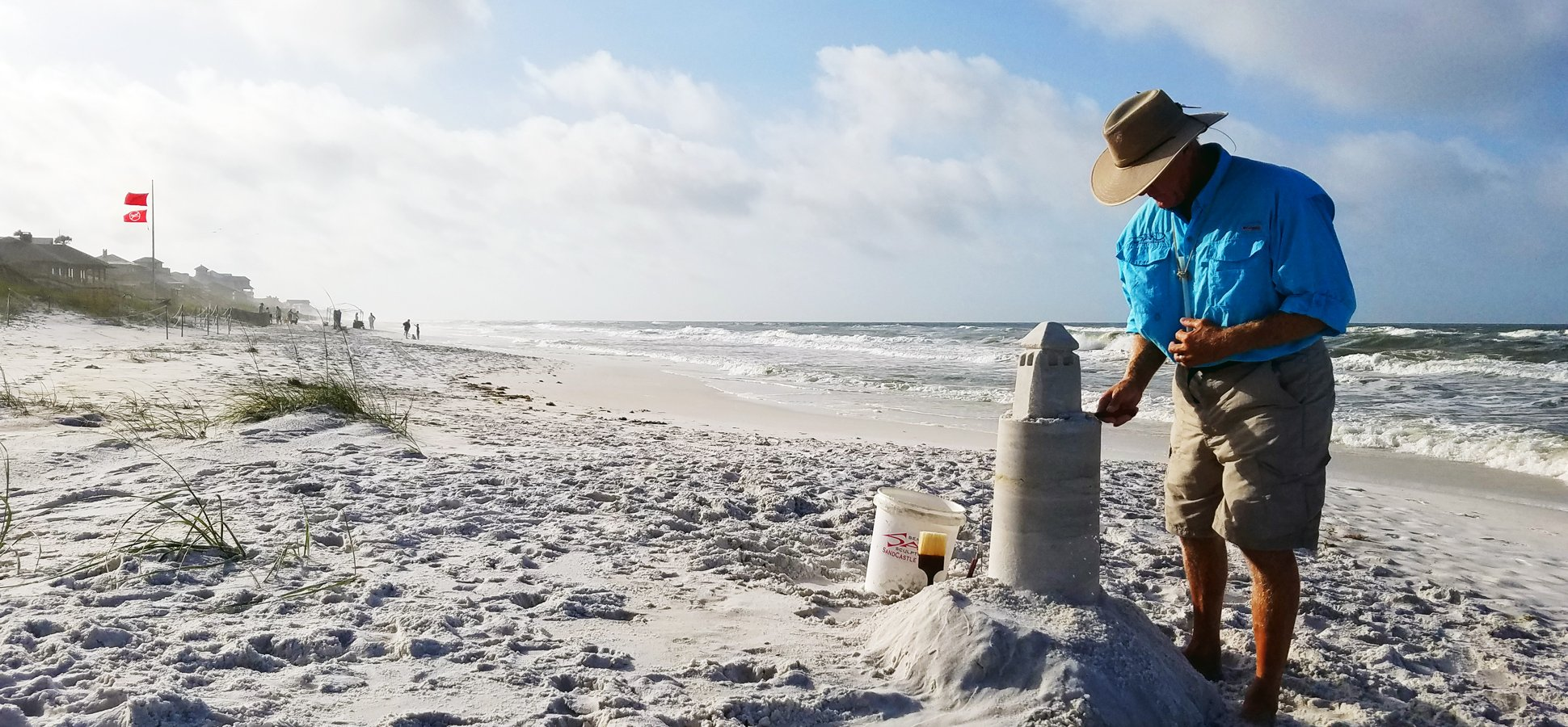 How a Former Architect Rebuilt His Life--and Launched a Business--by Driving South in an RV to Build Badass Sand Castles