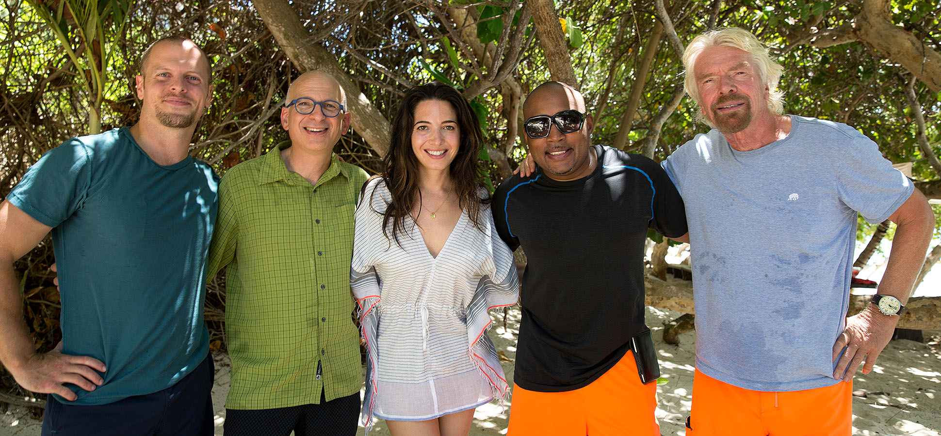 What You Learn From 5 Days With Richard Branson, Daymond John, and Tim Ferriss