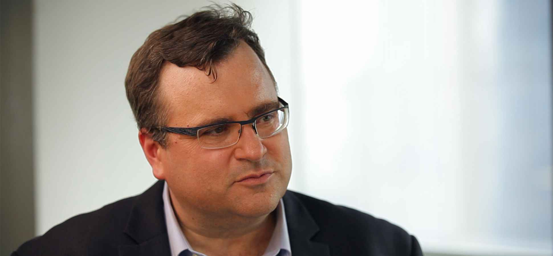 LinkedIn Founder Reid Hoffman: Pitch Your Company as a Stepping ...
