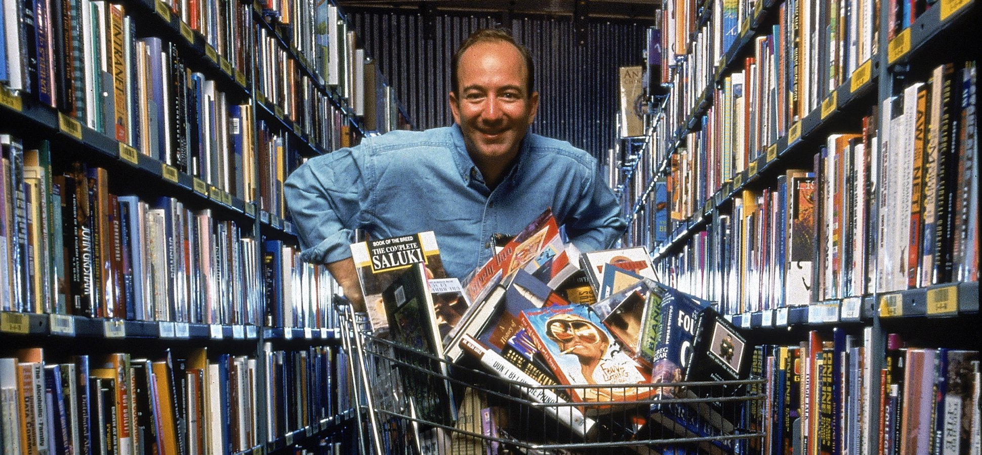 Amazon Was Founded 25 Years Ago This Friday. Here's What the World Was Like When Jeff Bezos Incorporated the Company in 1994