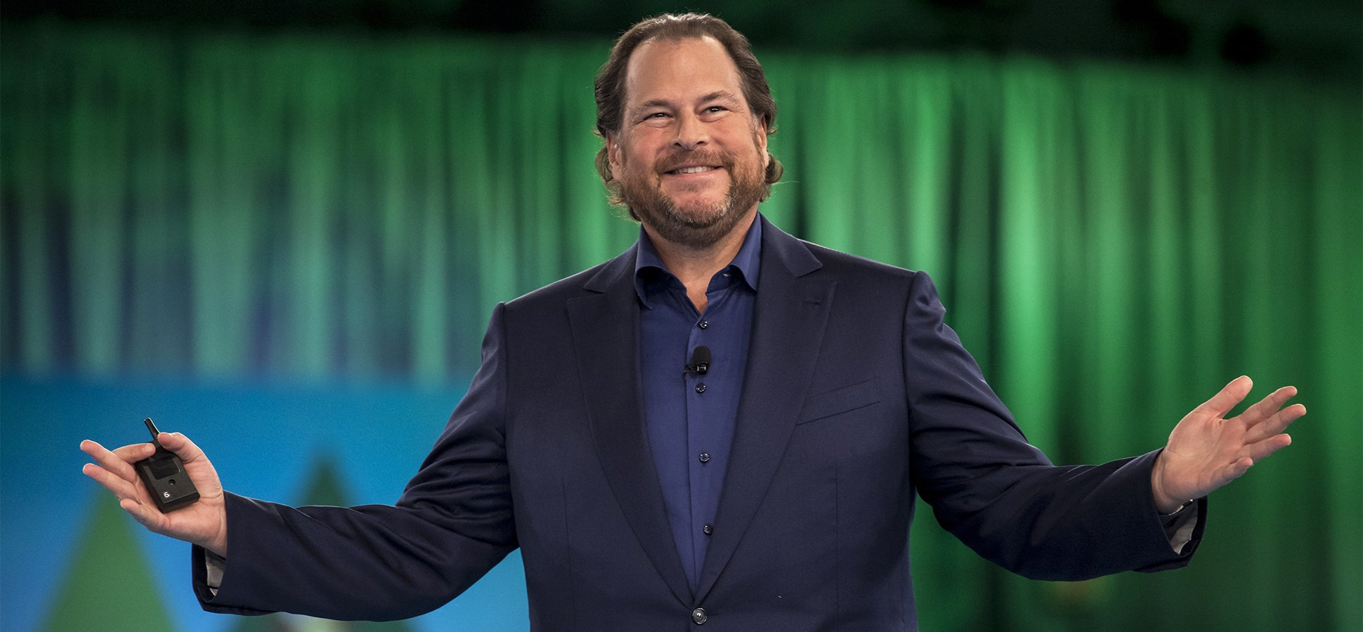 My run-in with Marc Benioff, and tips to be a star performer pics
