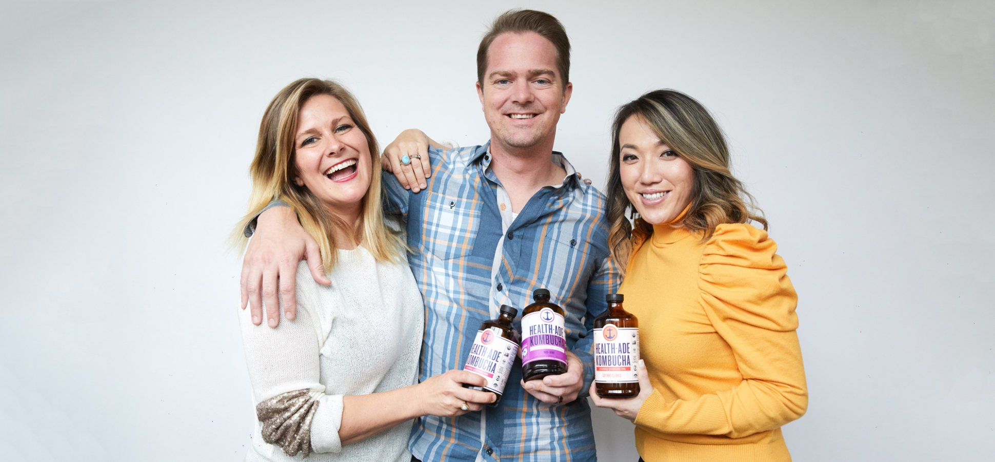 They Had a Lot of Ideas for Starting a Business--and a Lot of Kombucha Lying Around. Finally, the Two Came Together