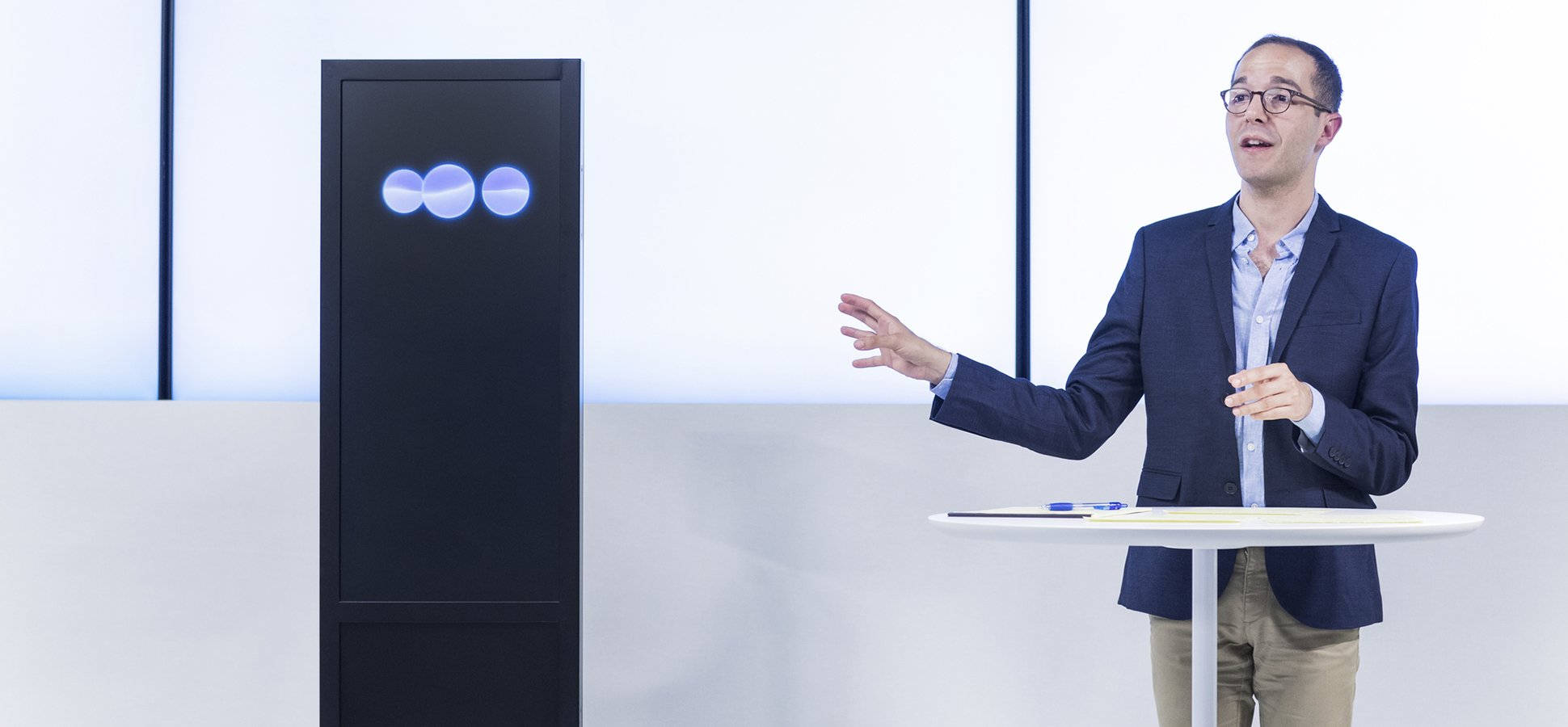 Having Conquered Chess and Jeopardy!, IBM Takes On Humans In Debate