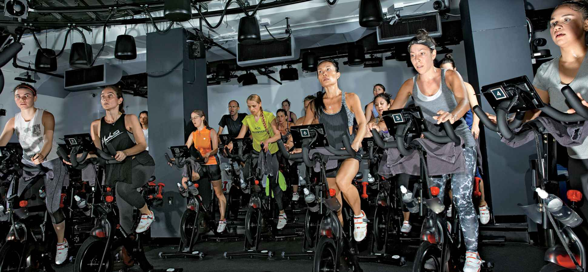 07415627100 Peloton s customers have shown such devotion that some have tattoos of the  company s logo. CREDIT  Andrew Hetherington. Peloton Cycle s indoor ...
