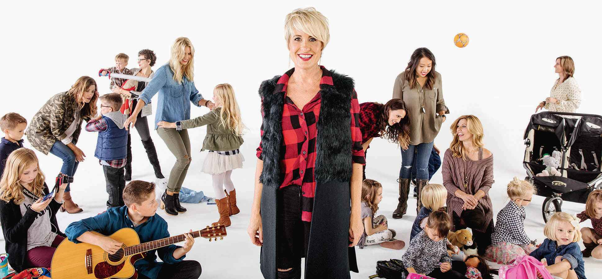 c27f80e2 Megan Tamte, surrounded by her Evereve-clad customers, found inspiration  from reality TV - and from her frustrating shopping experiences as a young  mother.