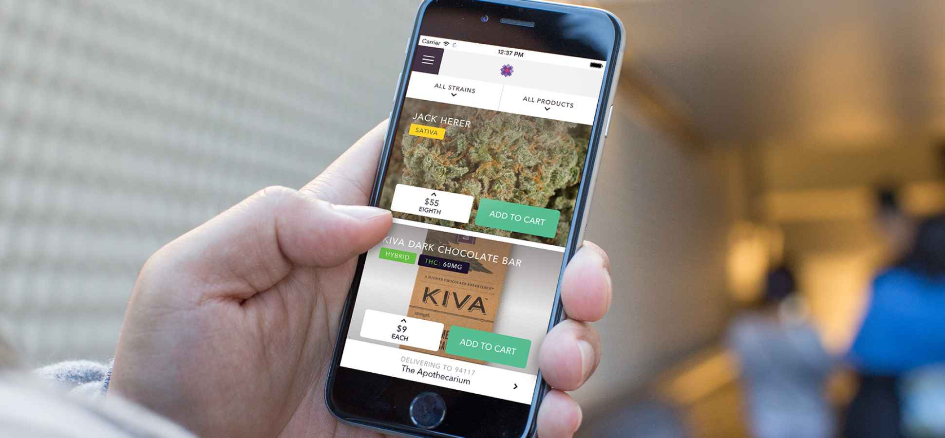 Uber-Like Cannabis Delivery App Meadow Blazes Out of Y Combinator