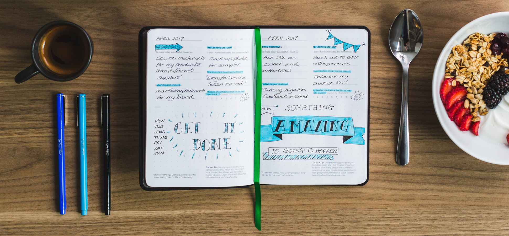 The Science Behind Why People Are Going Crazy for Bullet Journals