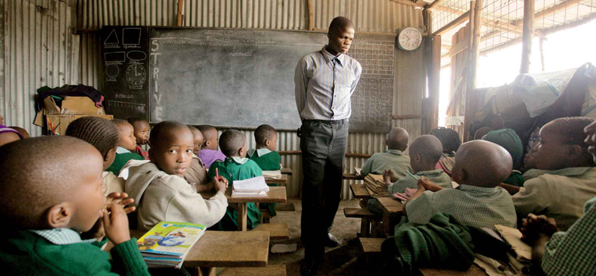 The Mission: Teach 10 Million Kids--and End Poverty