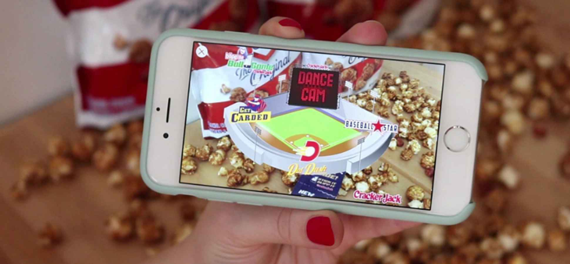 Cracker Jack Swaps Toys for a Prize That's Decidedly More High Tech