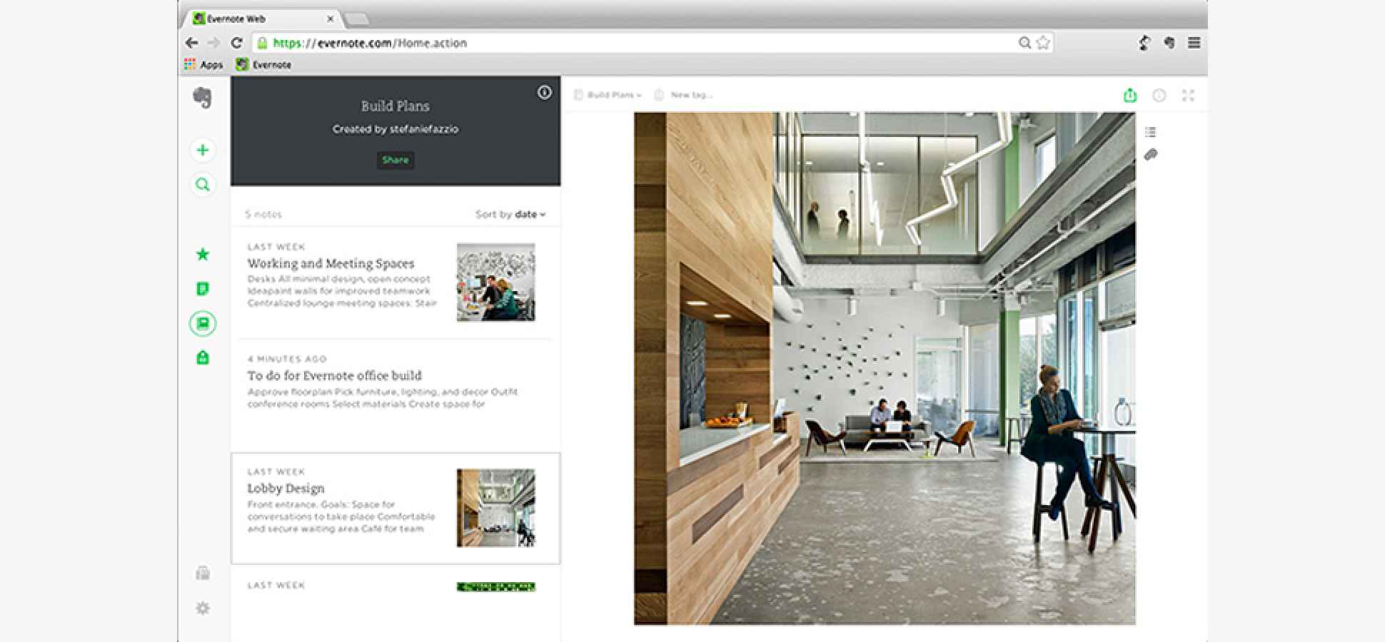 New Evernote Web App Takes Decluttering to the Extreme