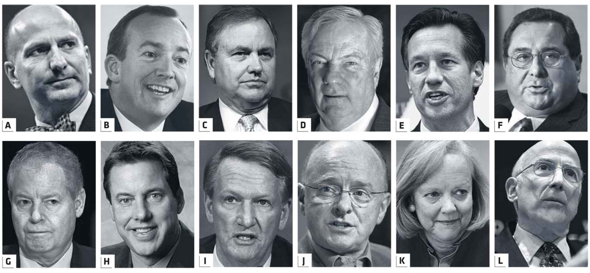 Faces of Success: You Can Judge a Leader's Appearance