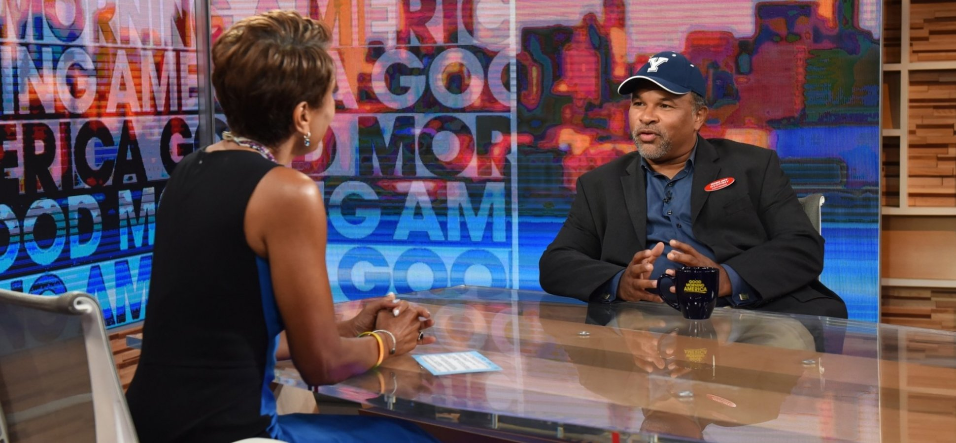 Did You Notice What the Ex-'Cosby Show' Actor Wore on 'Good Morning America'? (And I Don't Mean His Trader Joe's Name Tag)