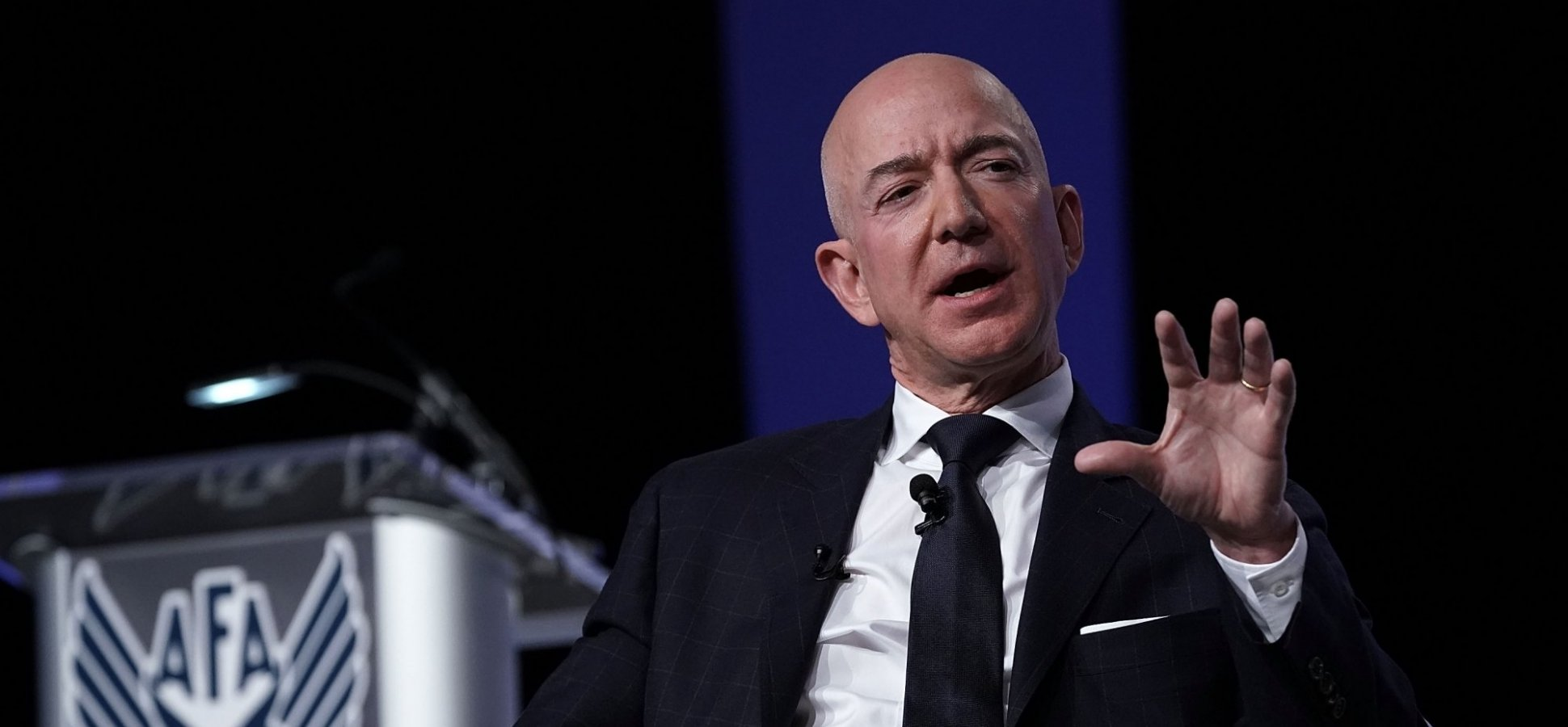 Jeff Bezos Just Made His Latest Move in This Modern-Day Space Race. Elon Musk, You're Next