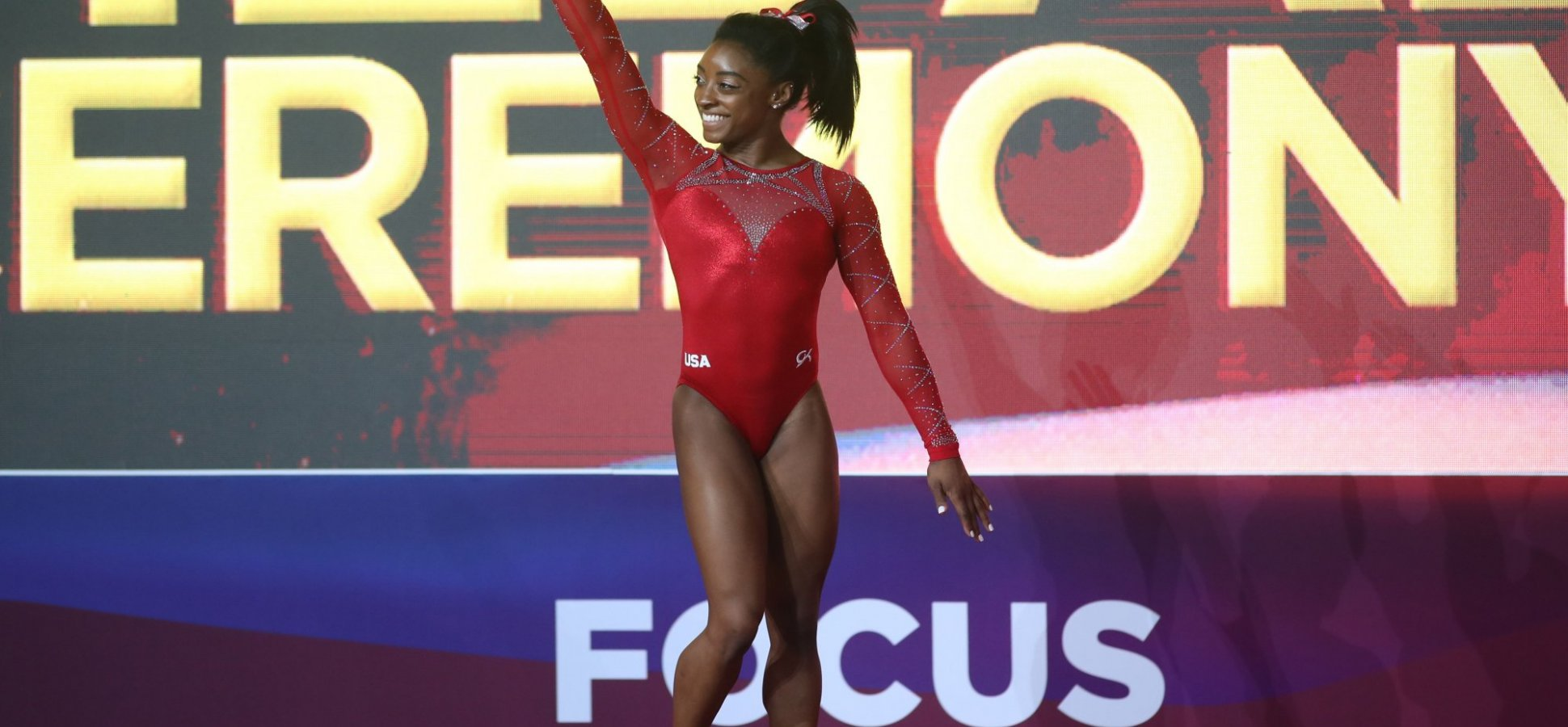 Gymnast Simone Biles Just Made History, Again. These Are the 2 Words She Uses to Motivate Herself