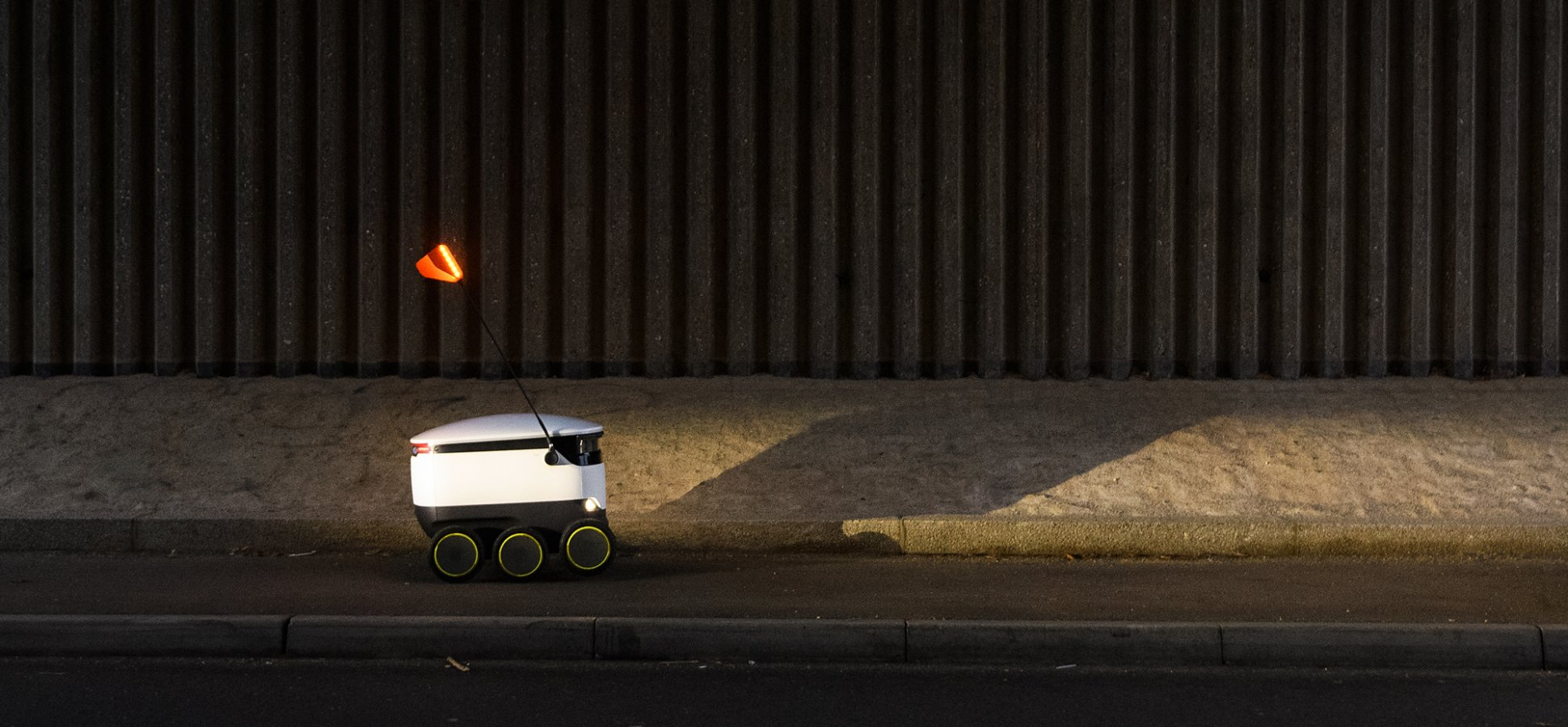 The Future of Customer Service Is Driving Down the Sidewalk (Slowly)