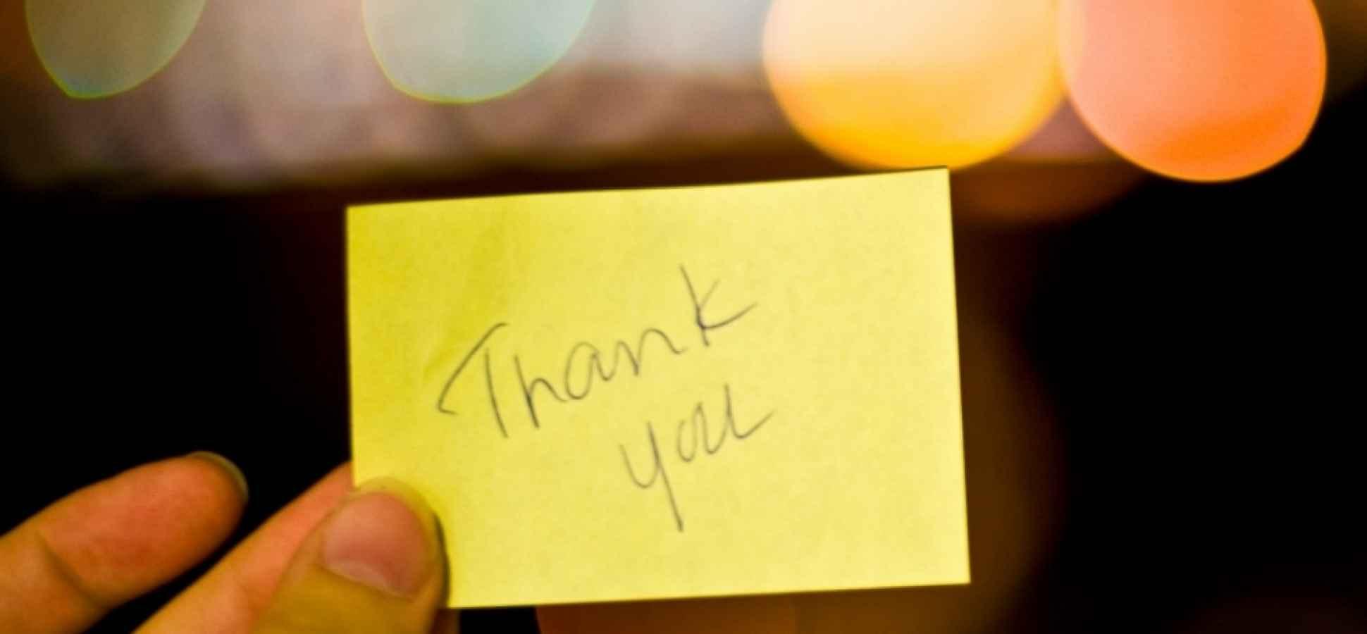 3 Ways Gratitude Makes Good Business Sense