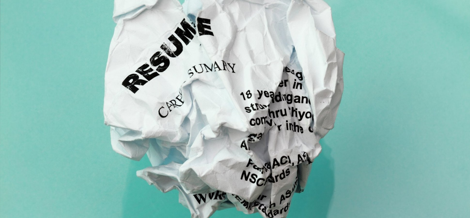The No. 1 Resume Mistake That Will Get You Immediately Rejected