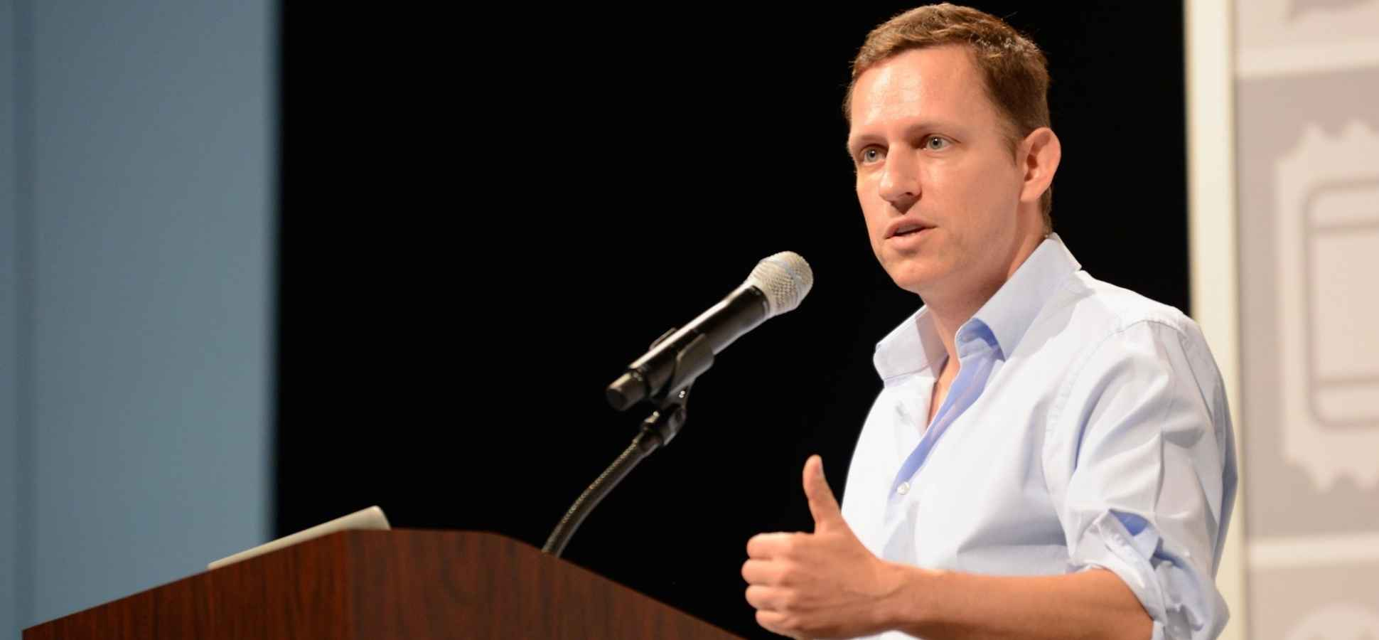 Peter Thiel Wants You to Get Angry About Death