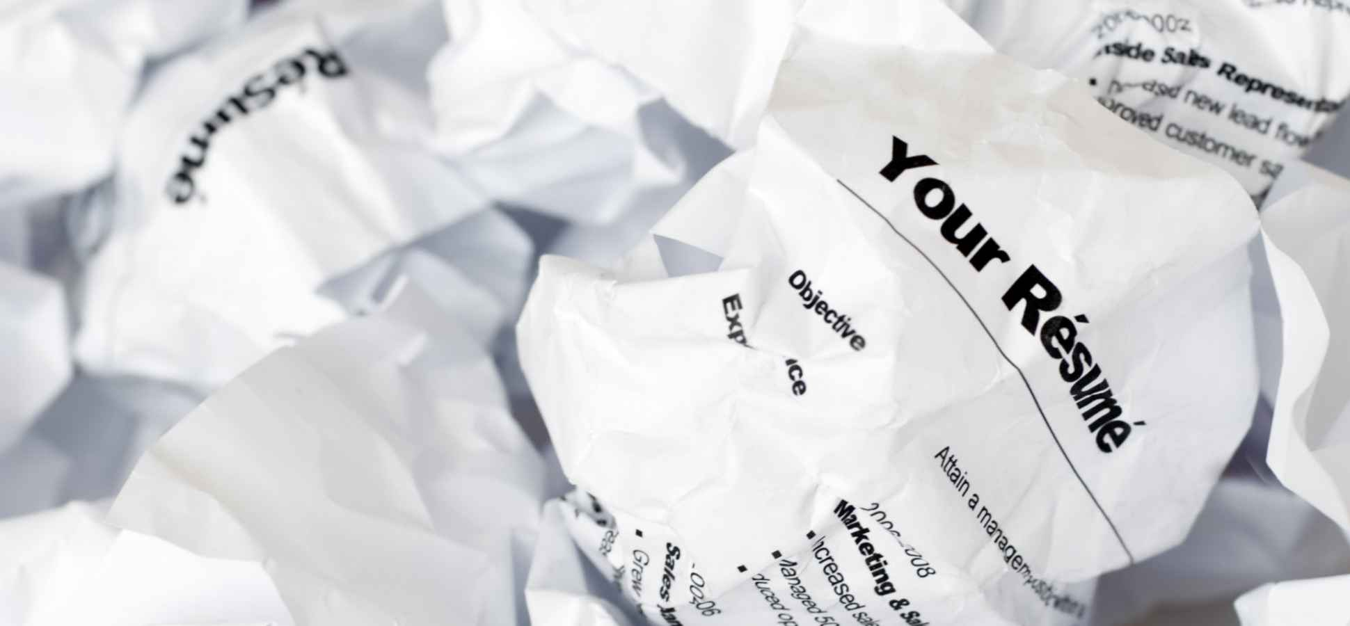 Your Resume Is Probably Embarrassing You. Here's What to Fix Right Now