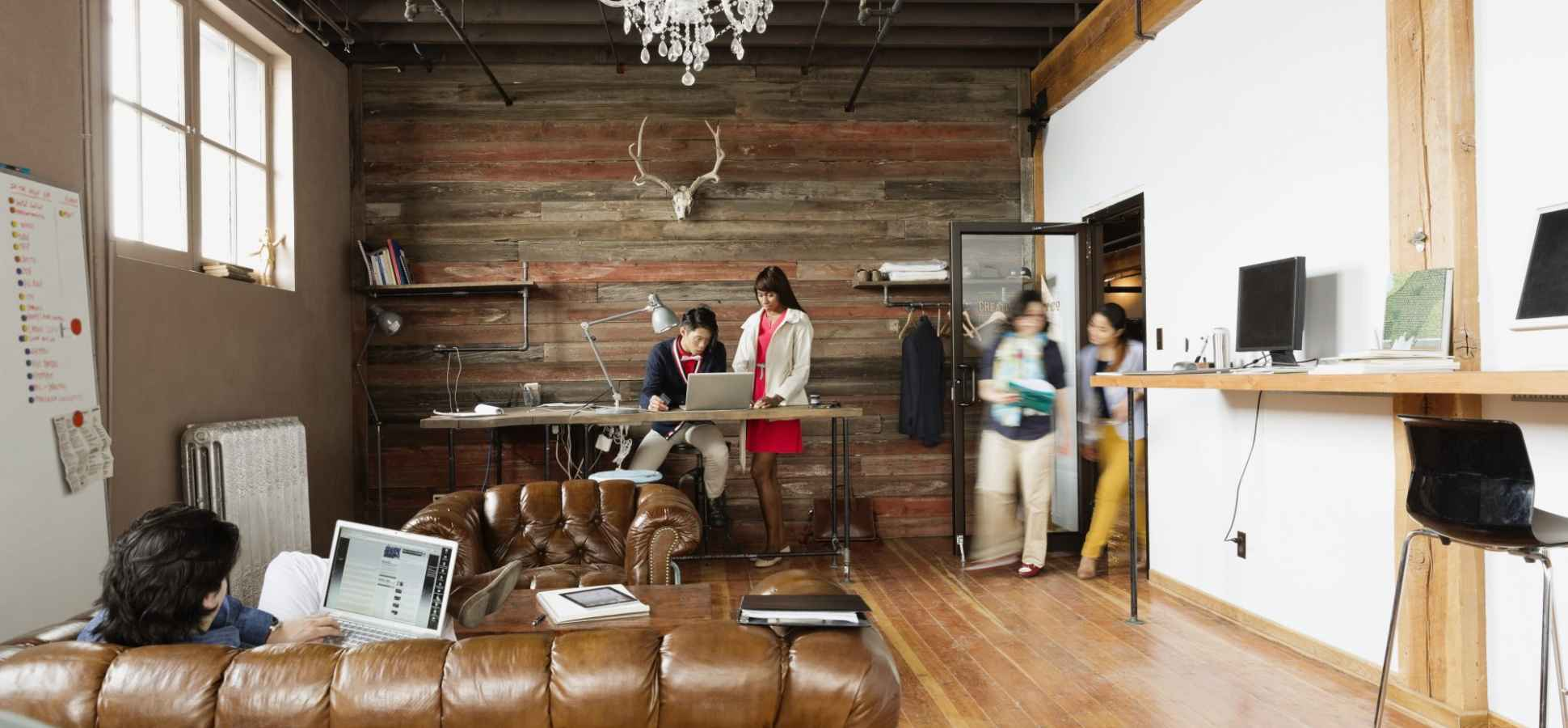 How Workplace Design Is Creating a Home Away from Home