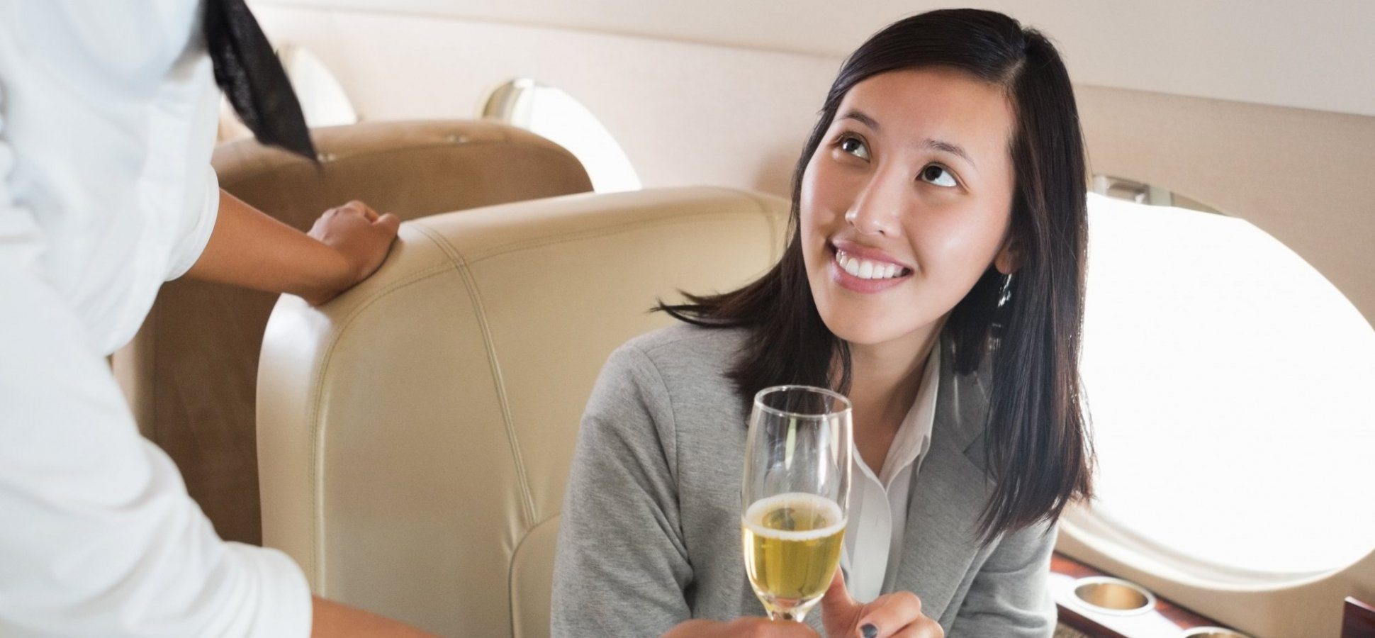 Here Are the 4 Questions to Ask That Will Land You an In-Flight Upgrade
